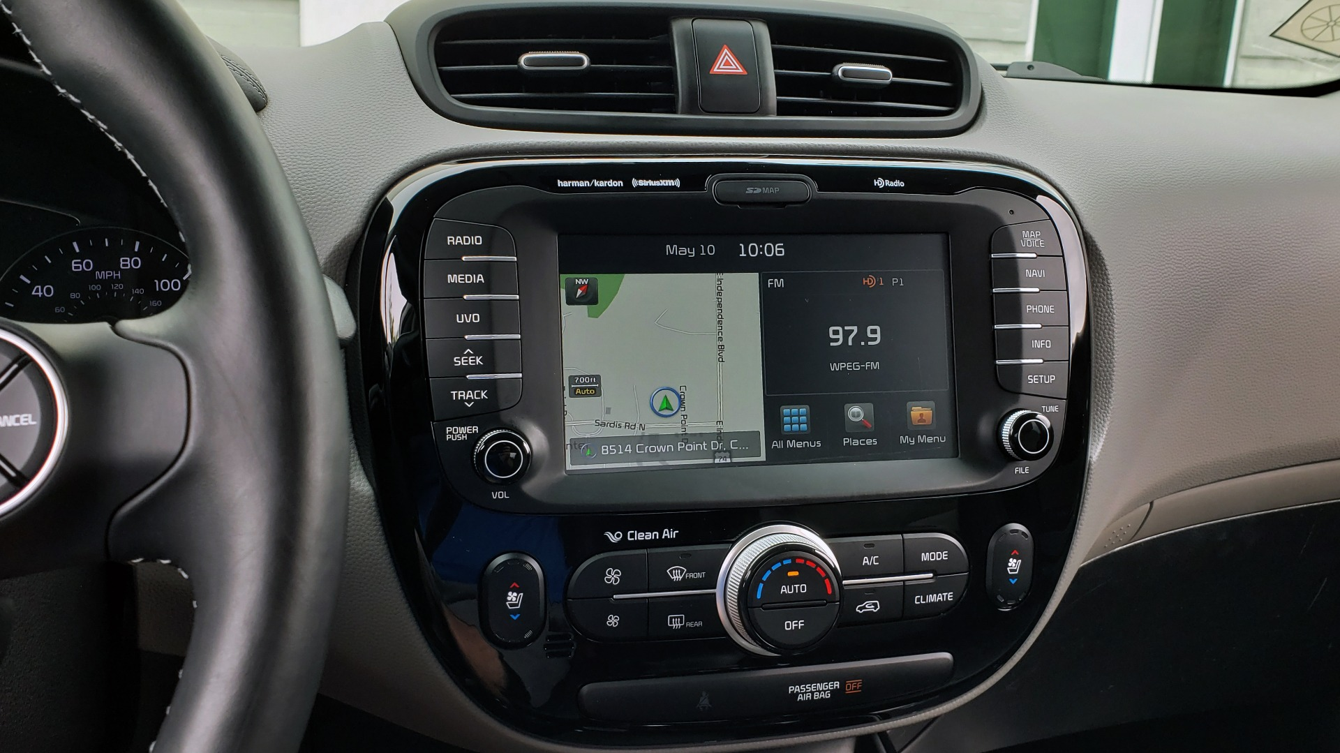 Used 2017 Kia SOUL PLUS / NAV / SUNROOF / LEATHER / HTD STS / REARVIEW for sale $16,995 at Formula Imports in Charlotte NC 28227 41