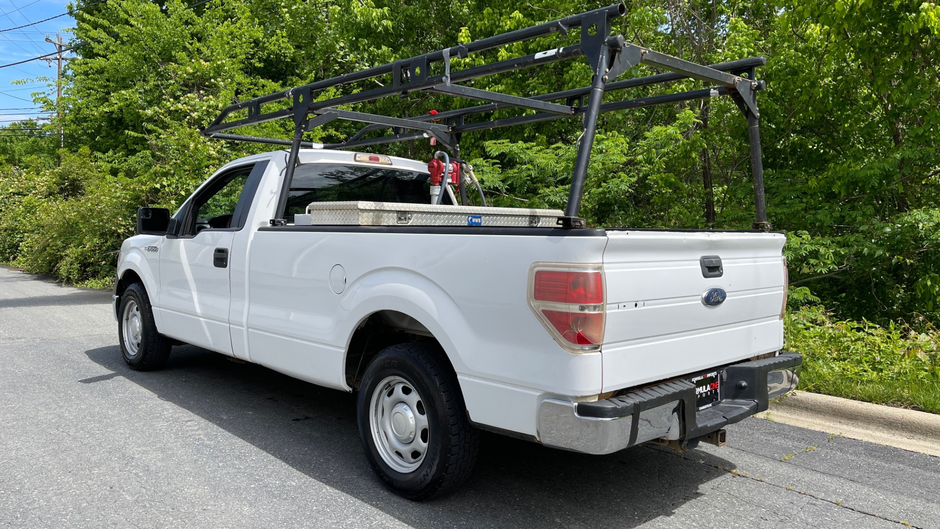 Used 2013 Ford F-150 XL / 2WD / V6 / AUTO / LONG BED / 145IN WB / WT / ROOF RACK / AUX TANK for sale Sold at Formula Imports in Charlotte NC 28227 3