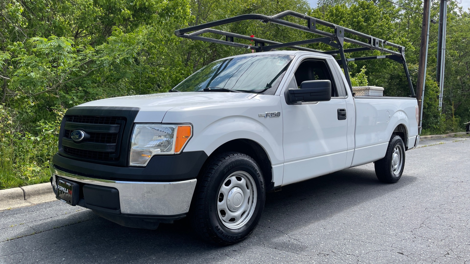 Used 2013 Ford F-150 XL / 2WD / V6 / AUTO / LONG BED / 145IN WB / WT / ROOF RACK / AUX TANK for sale Sold at Formula Imports in Charlotte NC 28227 1