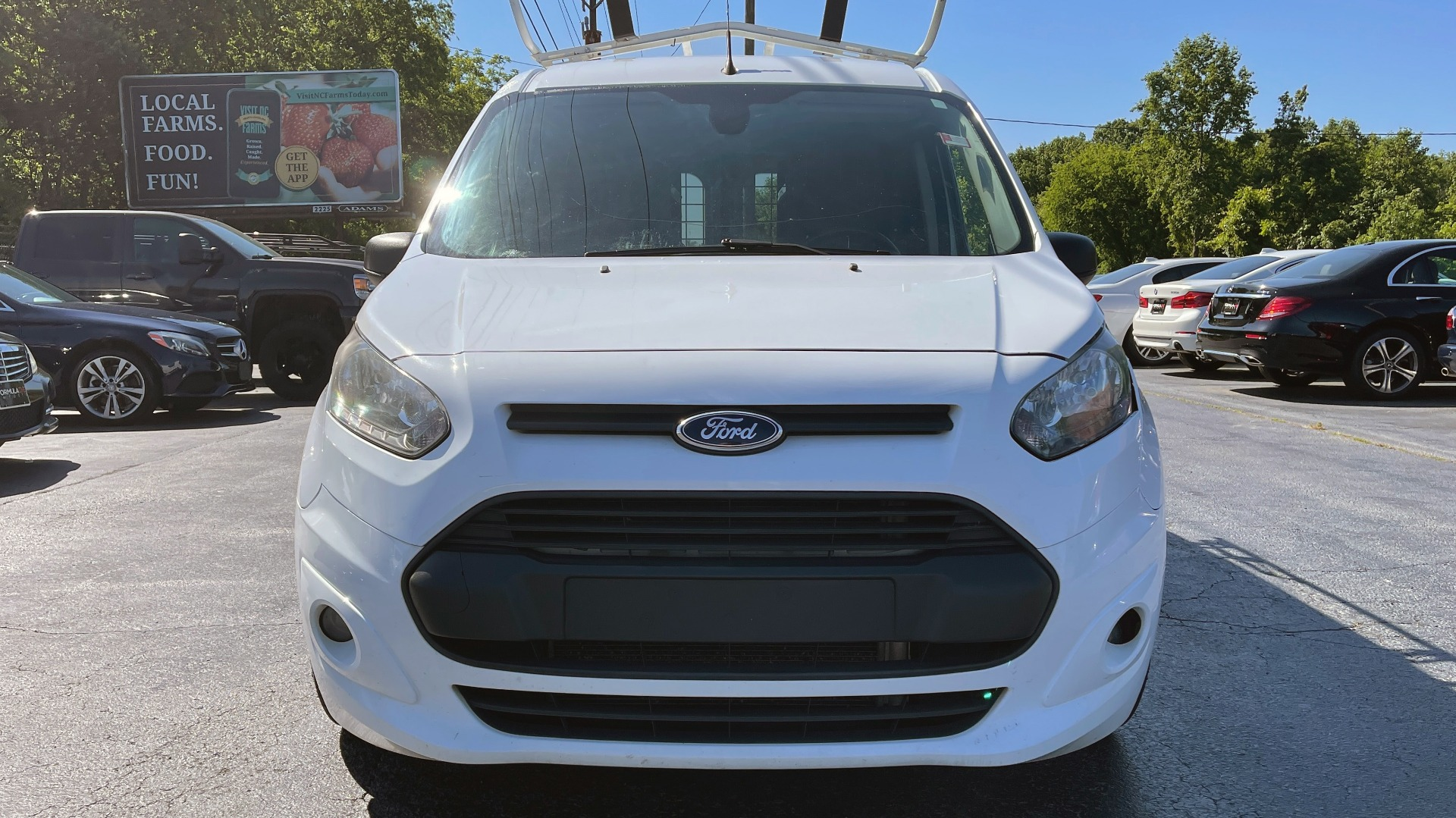 Used 2015 Ford TRANSIT CONNECT XLT CARGO VAN LWB / 2.5L 4-CYL / 6-SPD AUTO / ROOF RACK for sale $10,500 at Formula Imports in Charlotte NC 28227 5