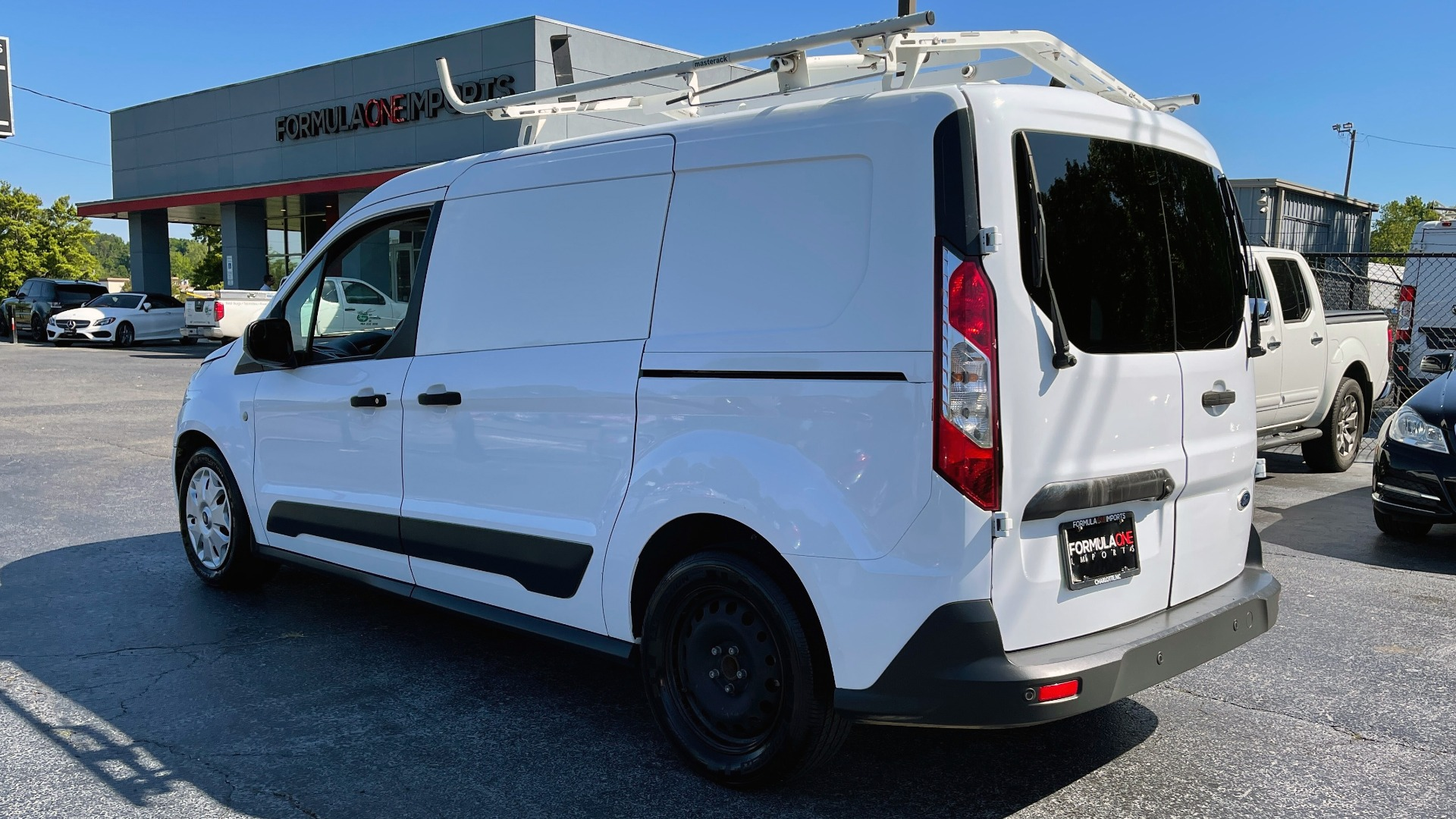 Used 2015 Ford TRANSIT CONNECT XLT CARGO VAN LWB / 2.5L 4-CYL / 6-SPD AUTO / ROOF RACK for sale $10,500 at Formula Imports in Charlotte NC 28227 7