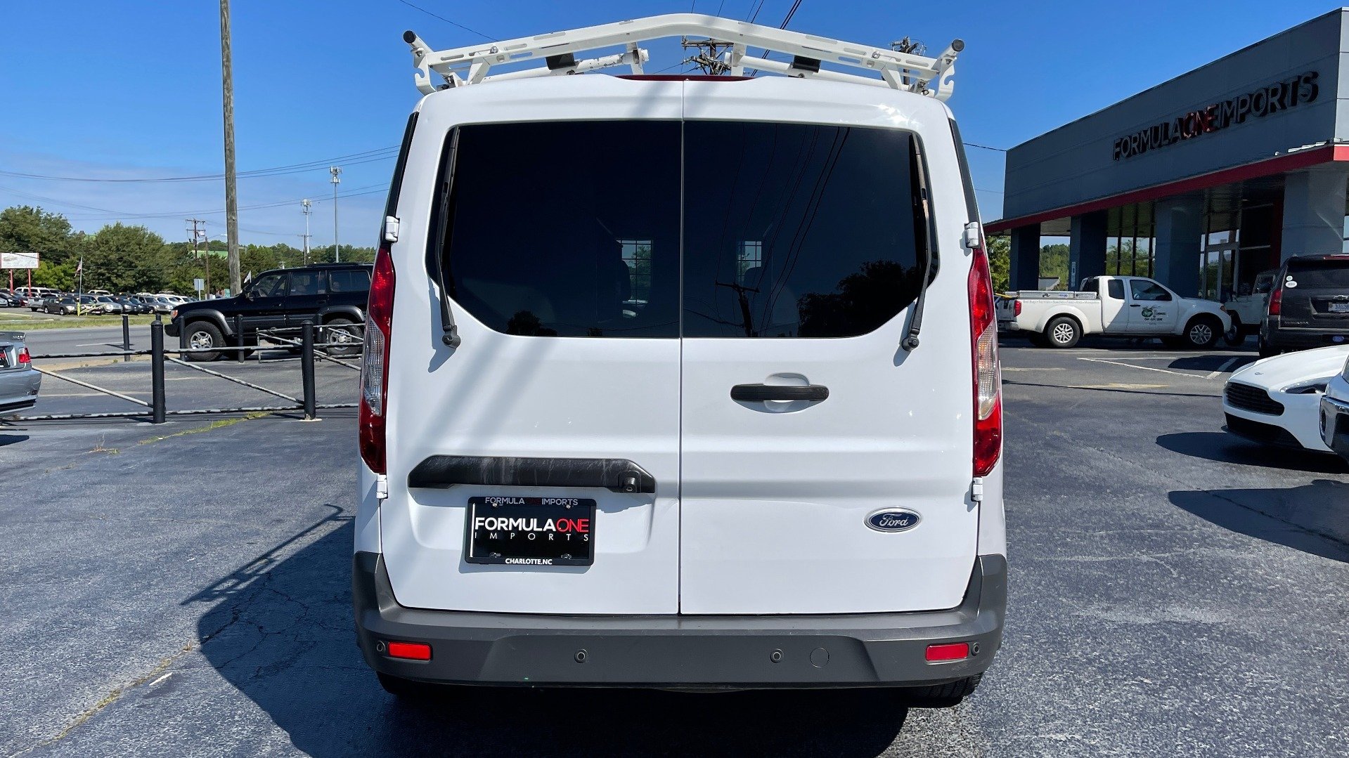 Used 2015 Ford TRANSIT CONNECT XLT CARGO VAN LWB / 2.5L 4-CYL / 6-SPD AUTO / ROOF RACK for sale $10,500 at Formula Imports in Charlotte NC 28227 8
