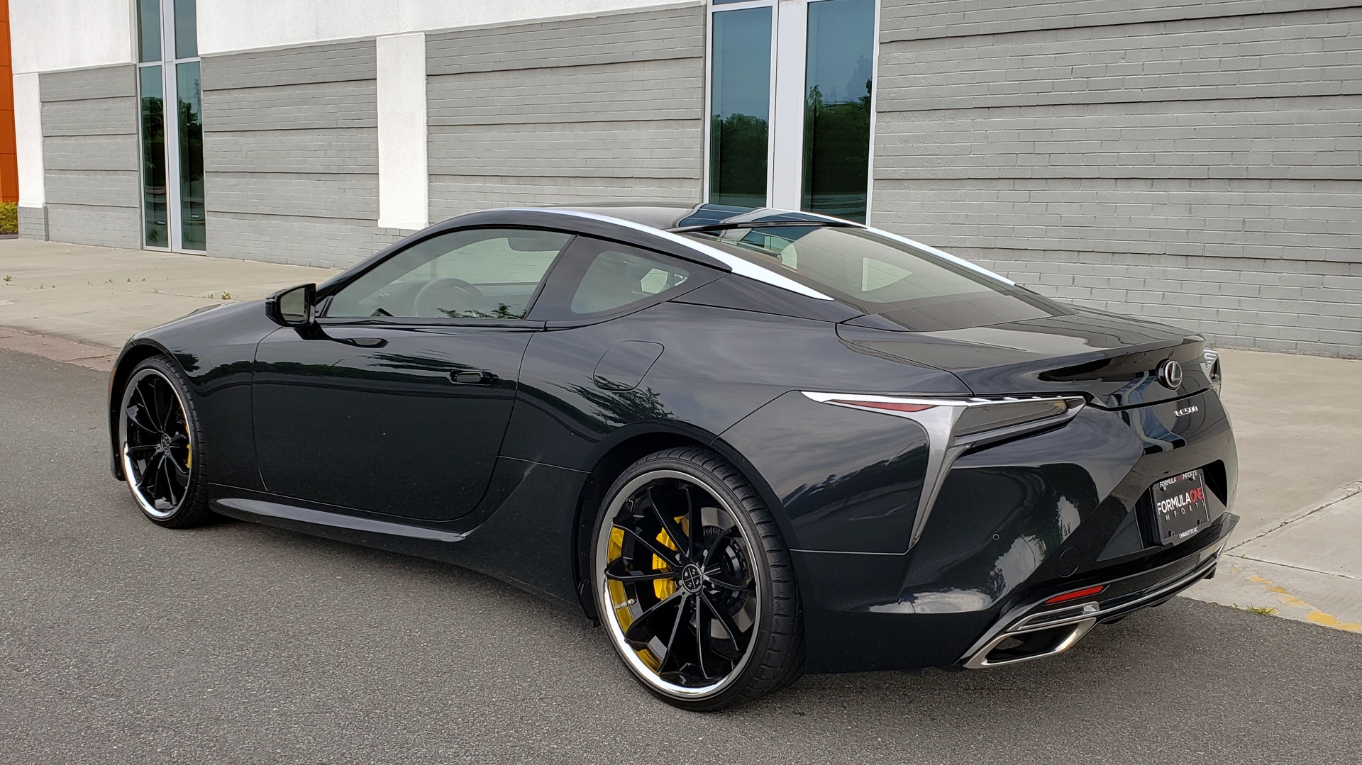 Used 2018 Lexus LC 500 COUPE / 5.0L V8 (471HP) / 10-SPD AUTO / HUD / SUNROOF / REARVIEW for sale Sold at Formula Imports in Charlotte NC 28227 11