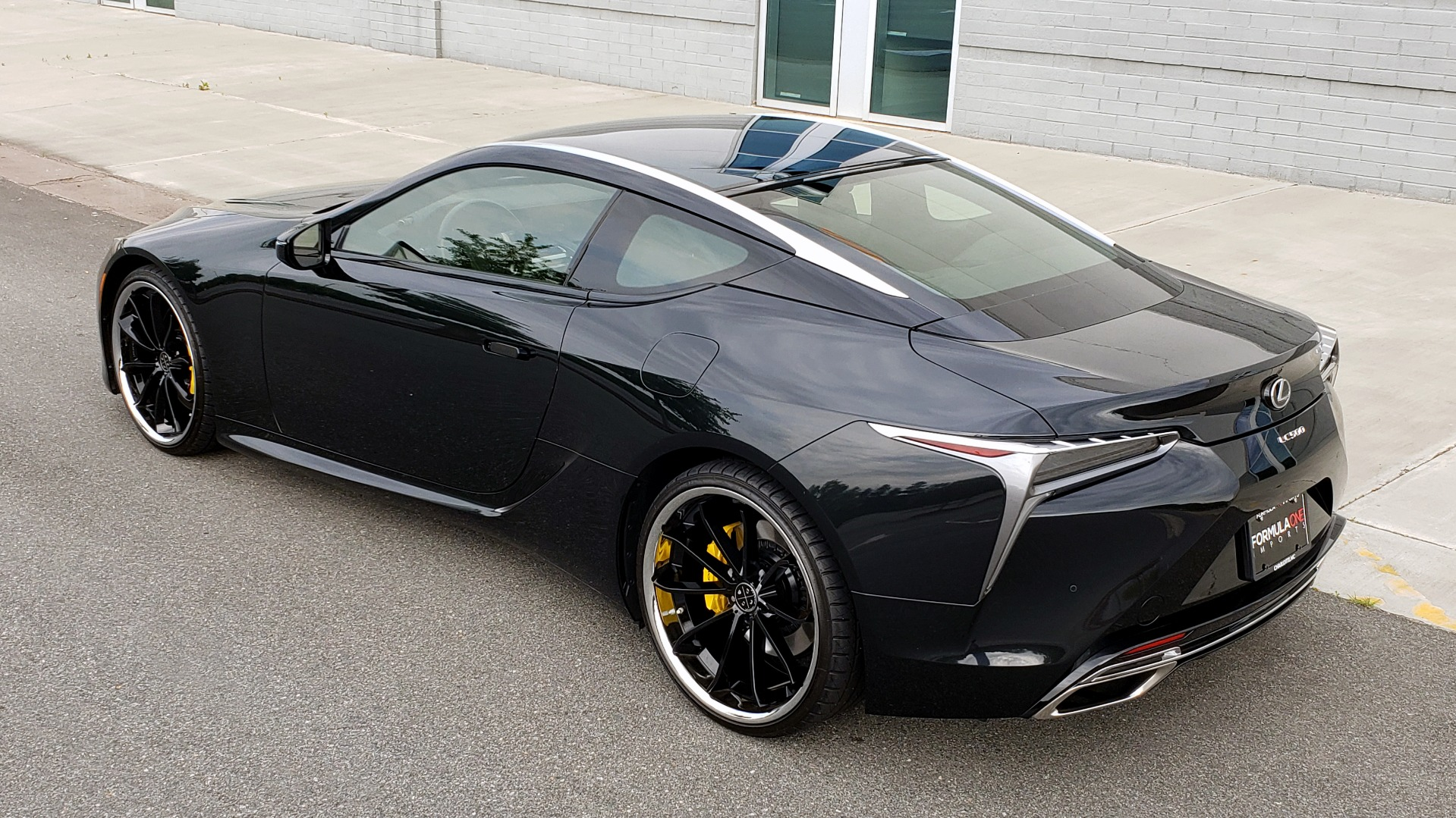 Used 2018 Lexus LC 500 COUPE / 5.0L V8 (471HP) / 10-SPD AUTO / HUD / SUNROOF / REARVIEW for sale Sold at Formula Imports in Charlotte NC 28227 12