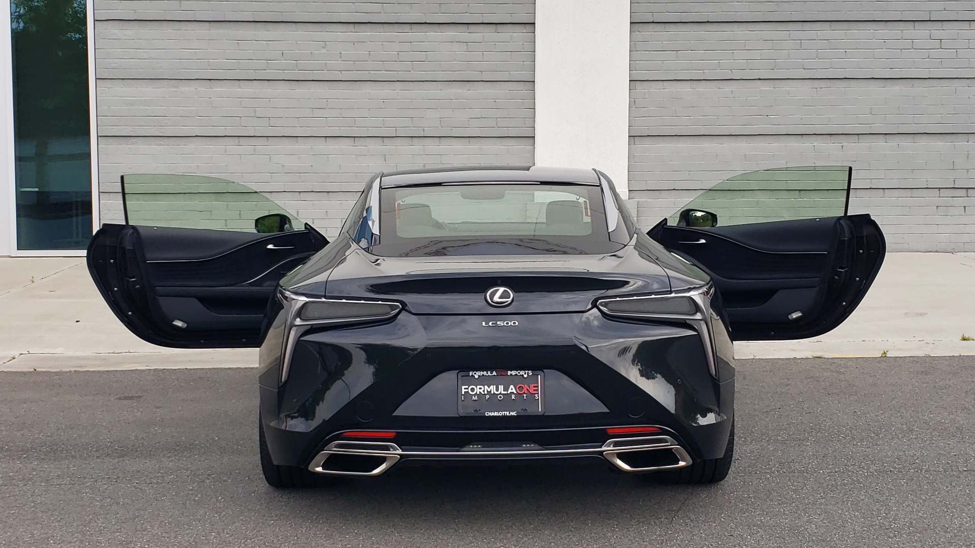 Used 2018 Lexus LC 500 COUPE / 5.0L V8 (471HP) / 10-SPD AUTO / HUD / SUNROOF / REARVIEW for sale Sold at Formula Imports in Charlotte NC 28227 33