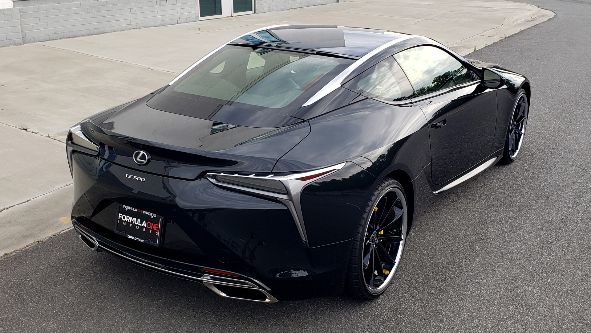 Used 2018 Lexus LC 500 COUPE / 5.0L V8 (471HP) / 10-SPD AUTO / HUD / SUNROOF / REARVIEW for sale Sold at Formula Imports in Charlotte NC 28227 4