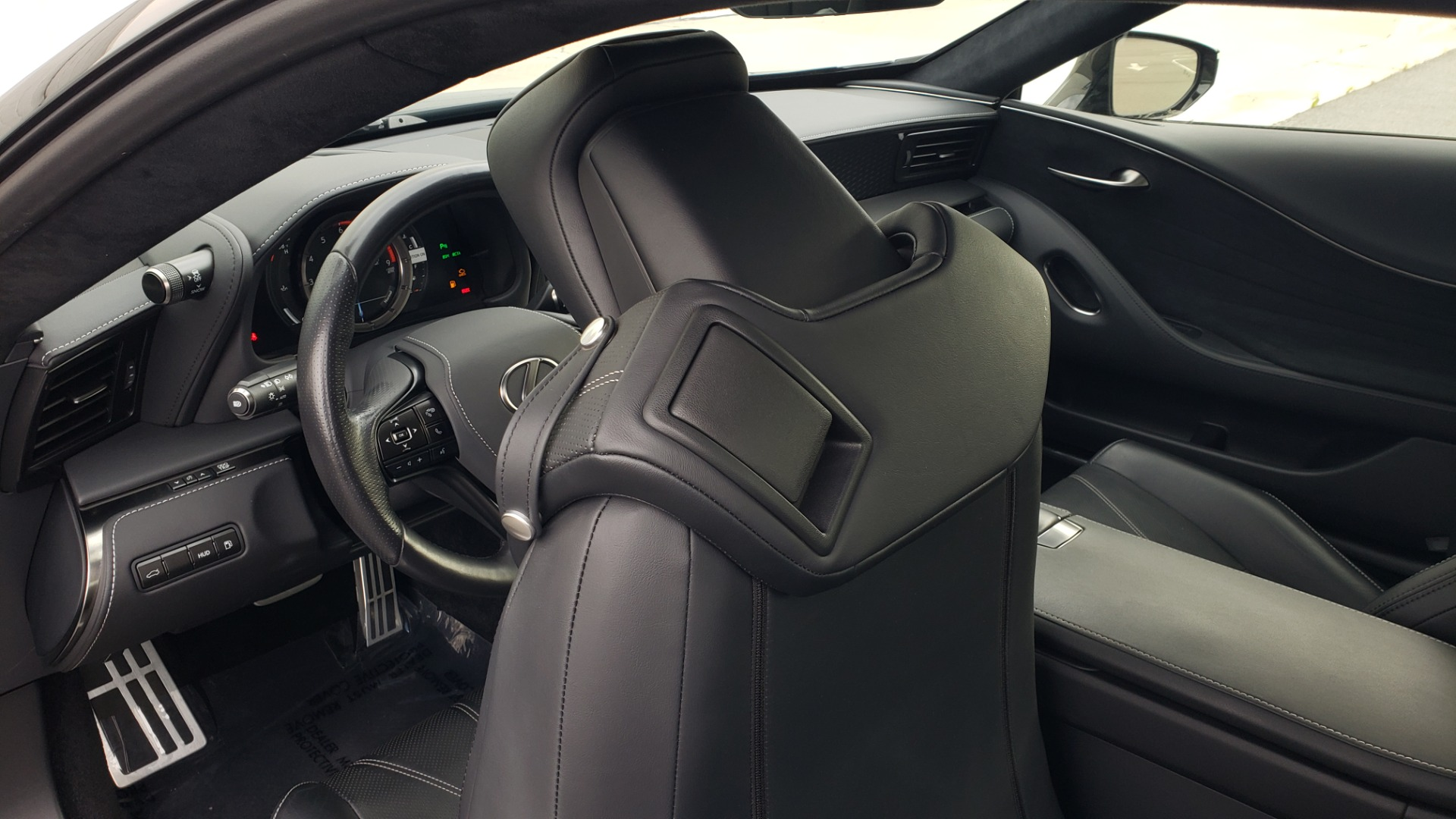 Used 2018 Lexus LC 500 COUPE / 5.0L V8 (471HP) / 10-SPD AUTO / HUD / SUNROOF / REARVIEW for sale Sold at Formula Imports in Charlotte NC 28227 45