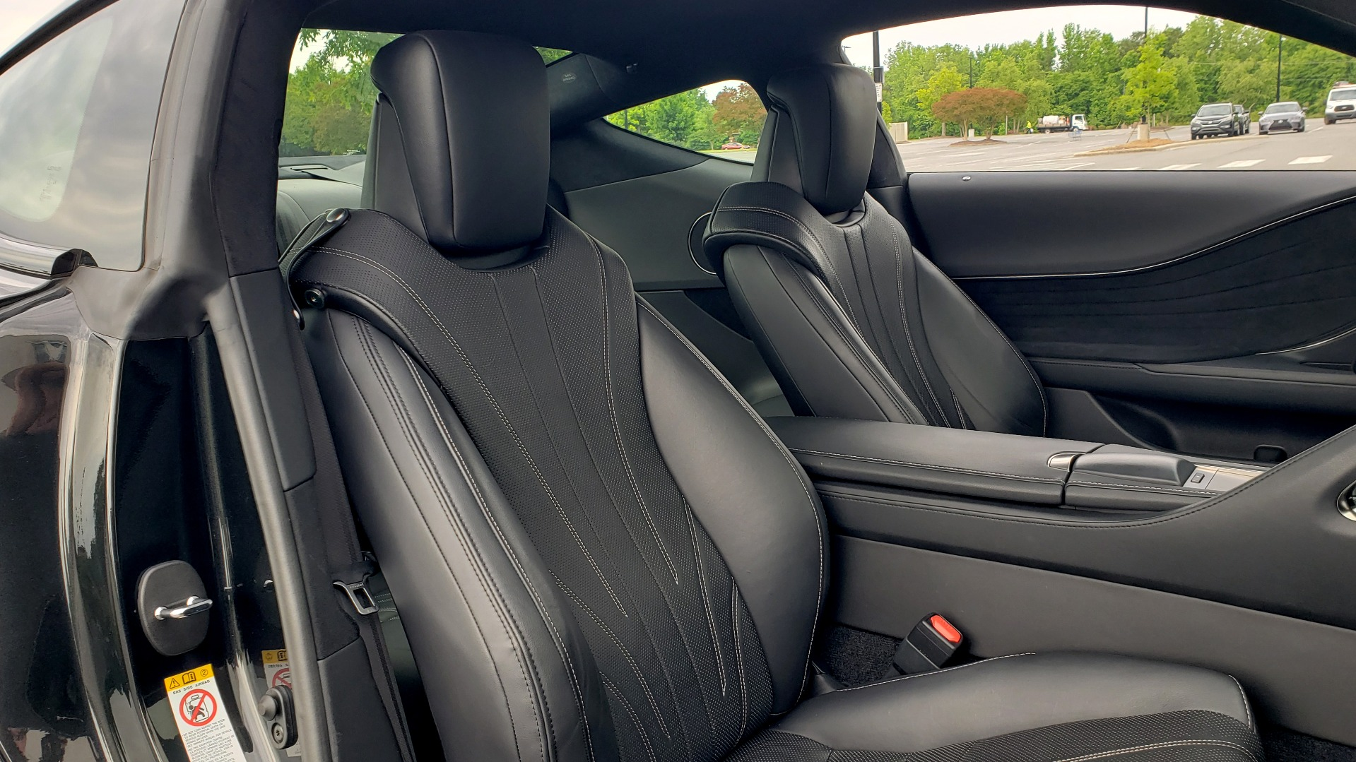 Used 2018 Lexus LC 500 COUPE / 5.0L V8 (471HP) / 10-SPD AUTO / HUD / SUNROOF / REARVIEW for sale Sold at Formula Imports in Charlotte NC 28227 57
