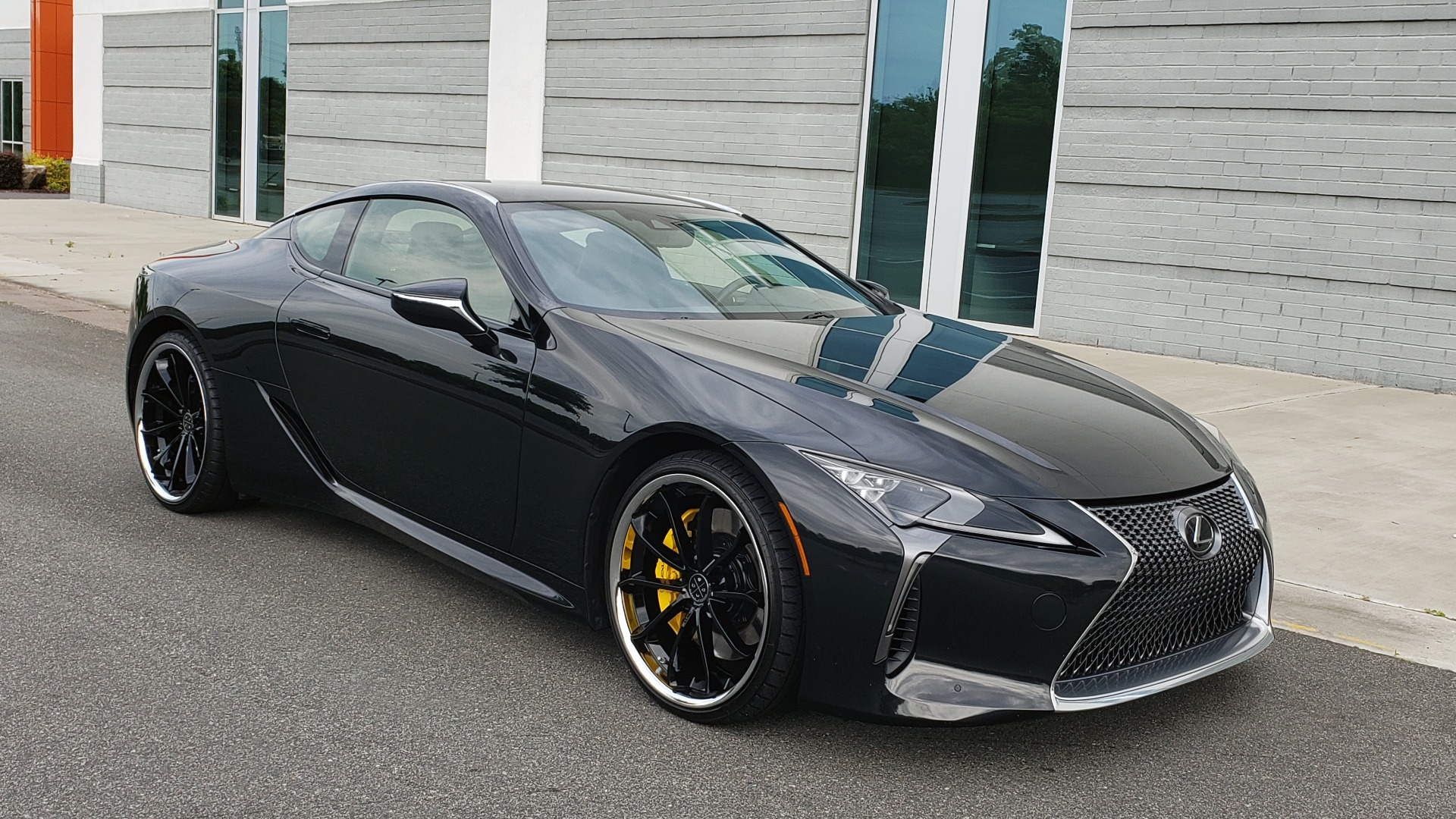 Used 2018 Lexus LC 500 COUPE / 5.0L V8 (471HP) / 10-SPD AUTO / HUD / SUNROOF / REARVIEW for sale Sold at Formula Imports in Charlotte NC 28227 9