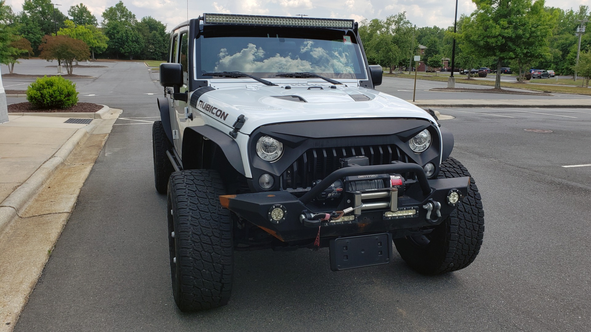 Used 2017 Jeep WRANGLER UNLIMITED RUBICON HARD ROCK 4X4 / 3.6L V6 / 5-SPD AUTO / NAV / REMOTE START for sale Sold at Formula Imports in Charlotte NC 28227 14