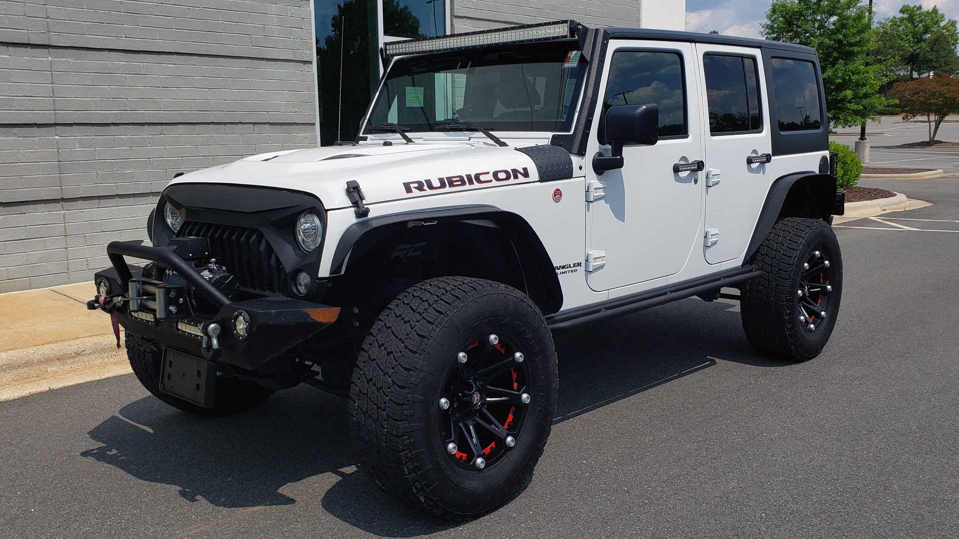 Used 2017 Jeep WRANGLER UNLIMITED RUBICON HARD ROCK 4X4 / 3.6L V6 / 5-SPD AUTO / NAV / REMOTE START for sale Sold at Formula Imports in Charlotte NC 28227 3