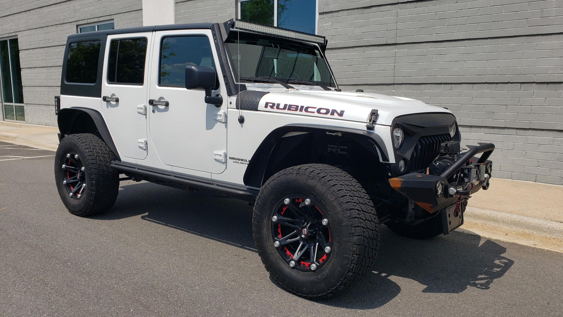 Used 2017 Jeep WRANGLER UNLIMITED RUBICON HARD ROCK 4X4 / 3.6L V6 / 5-SPD AUTO / NAV / REMOTE START for sale Sold at Formula Imports in Charlotte NC 28227 7