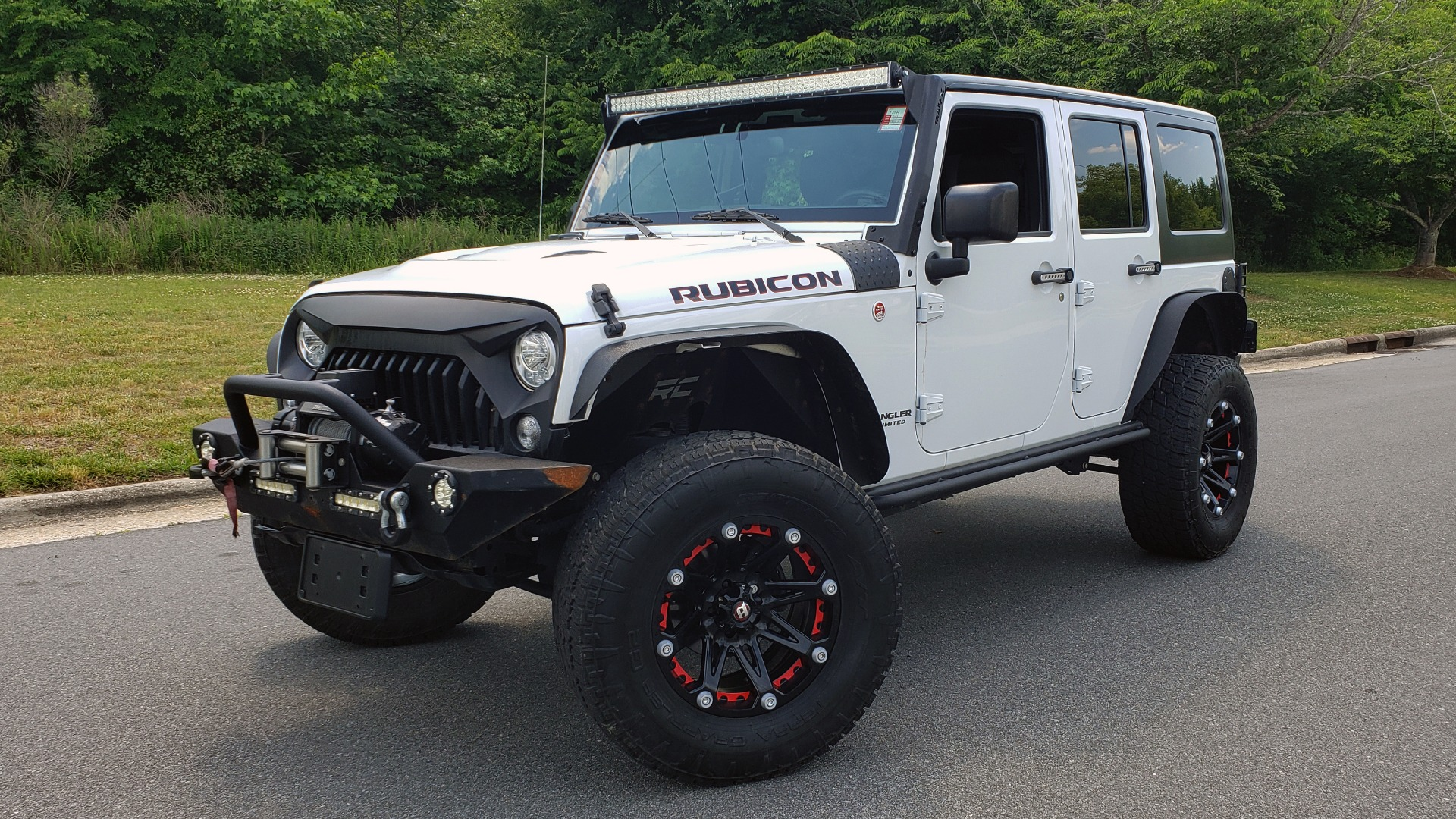 Used 2017 Jeep WRANGLER UNLIMITED RUBICON HARD ROCK 4X4 / 3.6L V6 / 5-SPD AUTO / NAV / REMOTE START for sale Sold at Formula Imports in Charlotte NC 28227 1