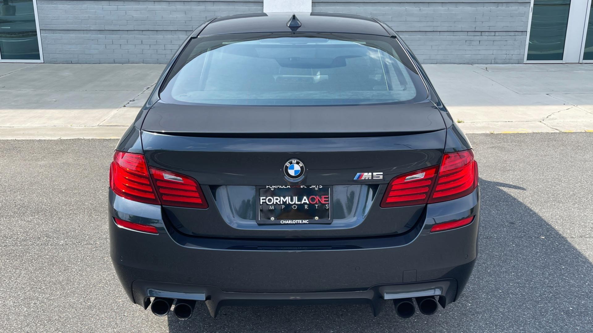 Used 2015 BMW M5 SEDAN / EXEC PKG / HUD / NAV / B&O SND / SUNROOF / REARVIEW for sale Sold at Formula Imports in Charlotte NC 28227 6