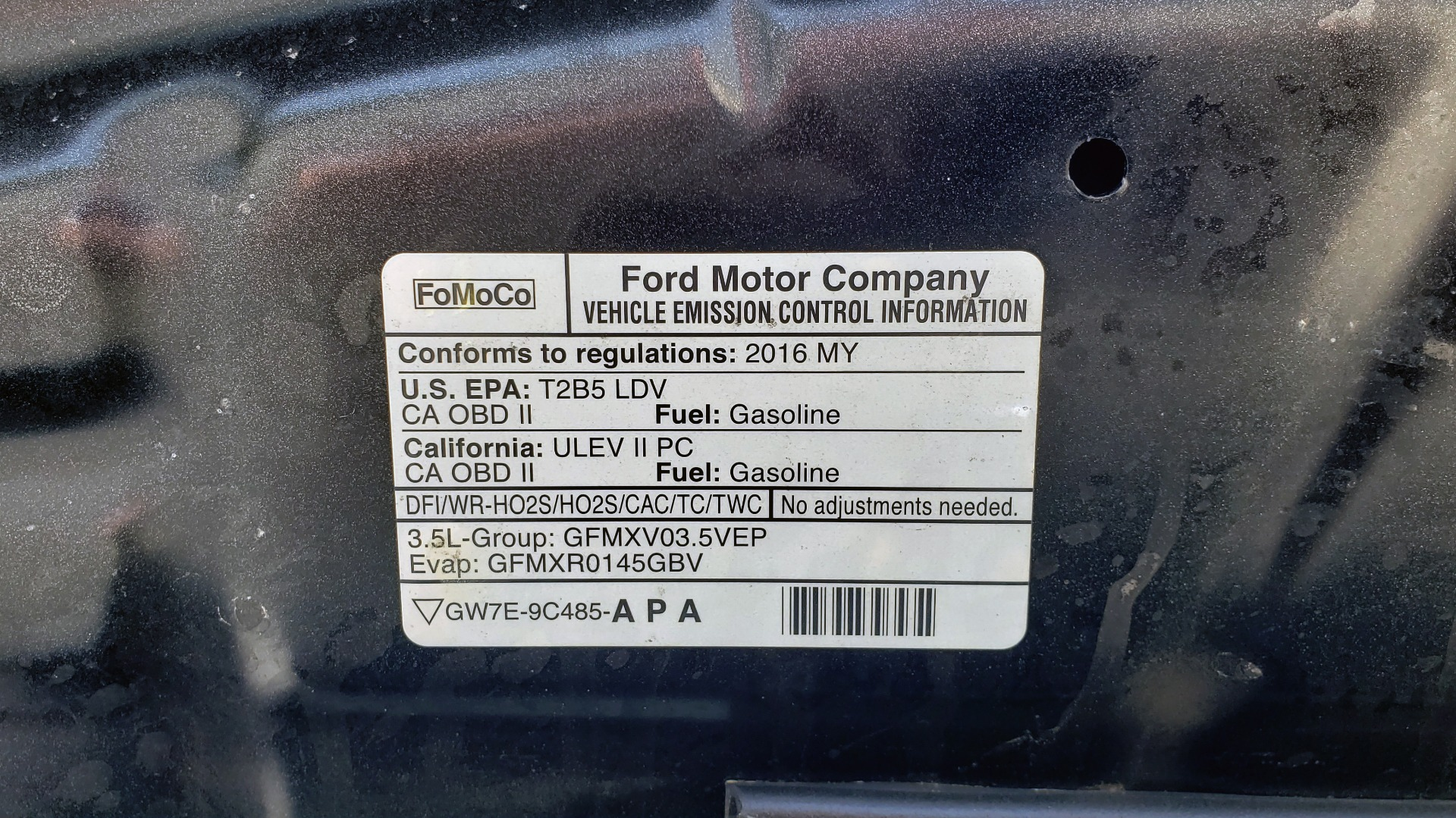 Used 2016 Ford EXPLORER SPORT 4WD / 3.5L ECOBOOST / 6-SPD AUTO / BSM / REARVIEW for sale Sold at Formula Imports in Charlotte NC 28227 13