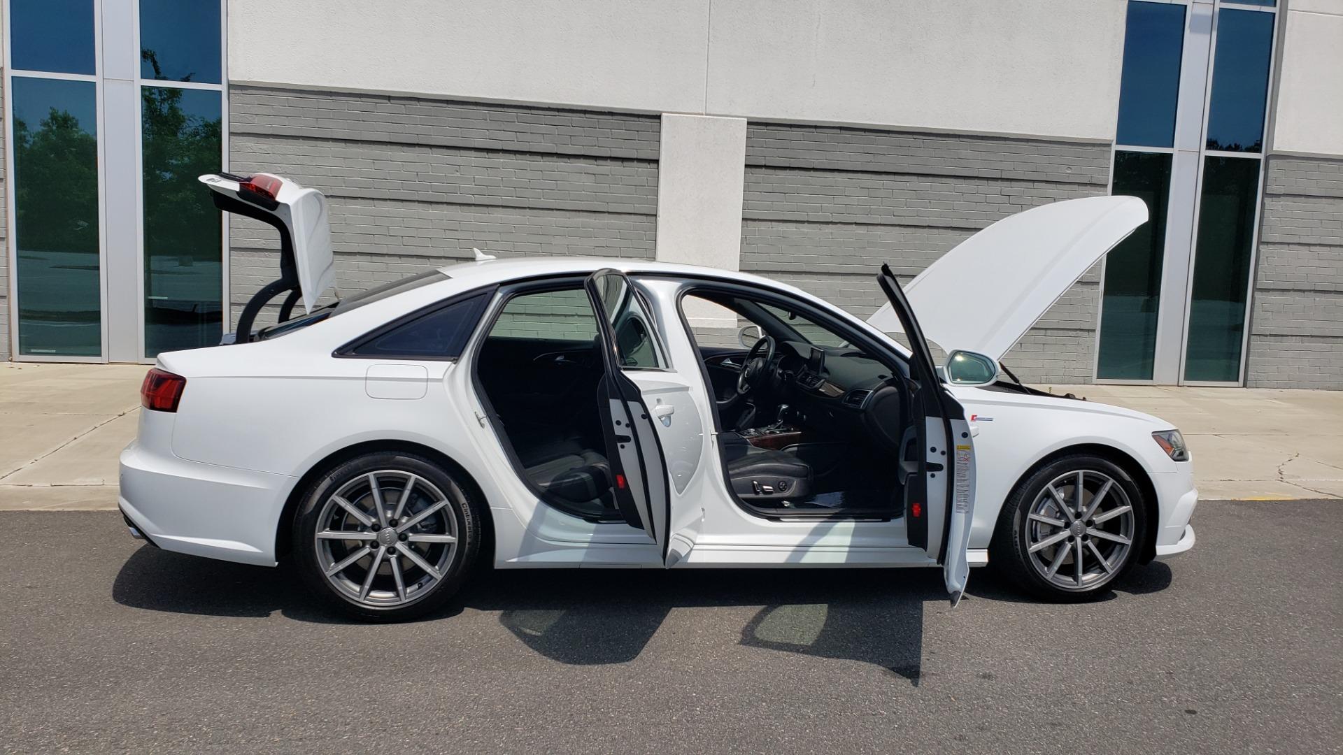 Used 2017 Audi A6 PRESTIGE SEDAN 3.0T / NAV / SUNROOF / BLACK OPTIC / CLD WTHR / REARVIEW for sale $30,797 at Formula Imports in Charlotte NC 28227 14