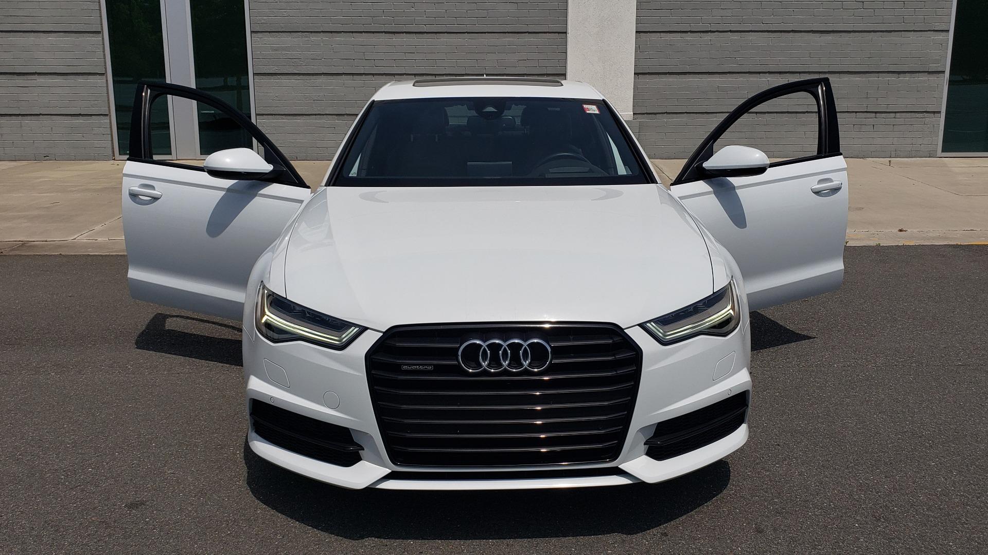 Used 2017 Audi A6 PRESTIGE SEDAN 3.0T / NAV / SUNROOF / BLACK OPTIC / CLD WTHR / REARVIEW for sale $30,797 at Formula Imports in Charlotte NC 28227 22