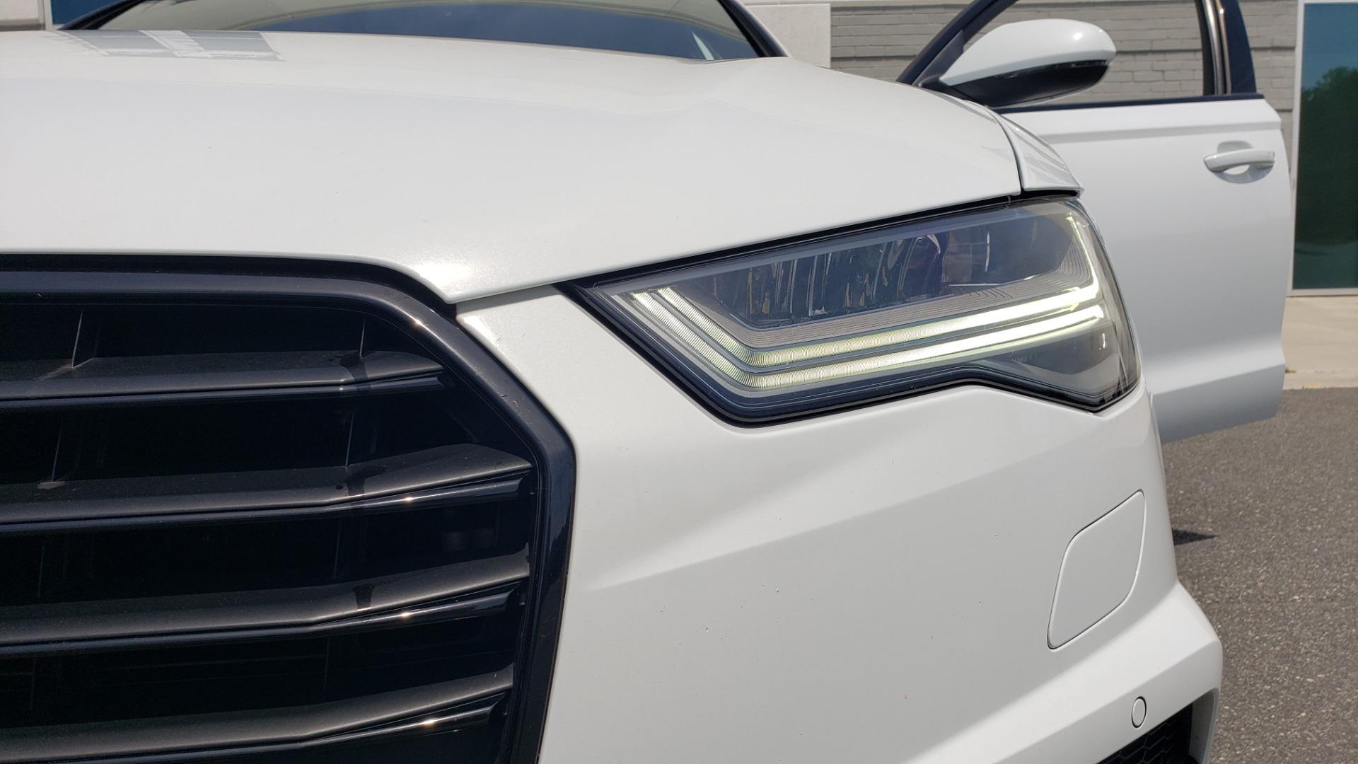 Used 2017 Audi A6 PRESTIGE SEDAN 3.0T / NAV / SUNROOF / BLACK OPTIC / CLD WTHR / REARVIEW for sale $30,797 at Formula Imports in Charlotte NC 28227 24