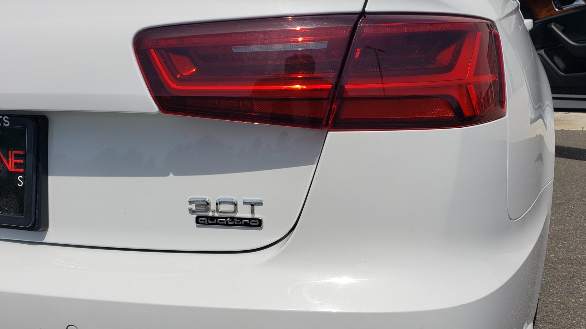 Used 2017 Audi A6 PRESTIGE SEDAN 3.0T / NAV / SUNROOF / BLACK OPTIC / CLD WTHR / REARVIEW for sale $30,797 at Formula Imports in Charlotte NC 28227 30