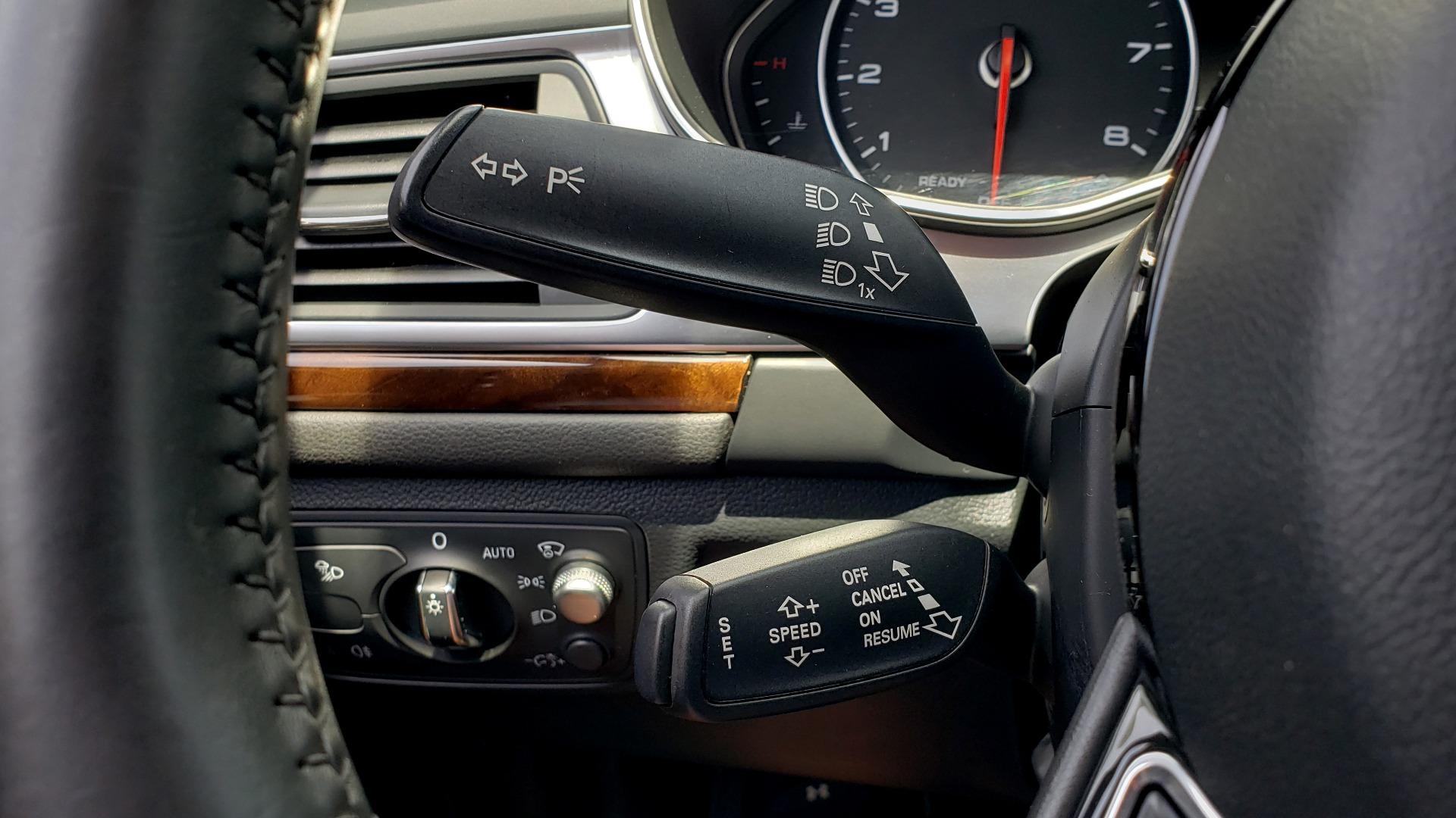 Used 2017 Audi A6 PRESTIGE SEDAN 3.0T / NAV / SUNROOF / BLACK OPTIC / CLD WTHR / REARVIEW for sale $30,797 at Formula Imports in Charlotte NC 28227 42