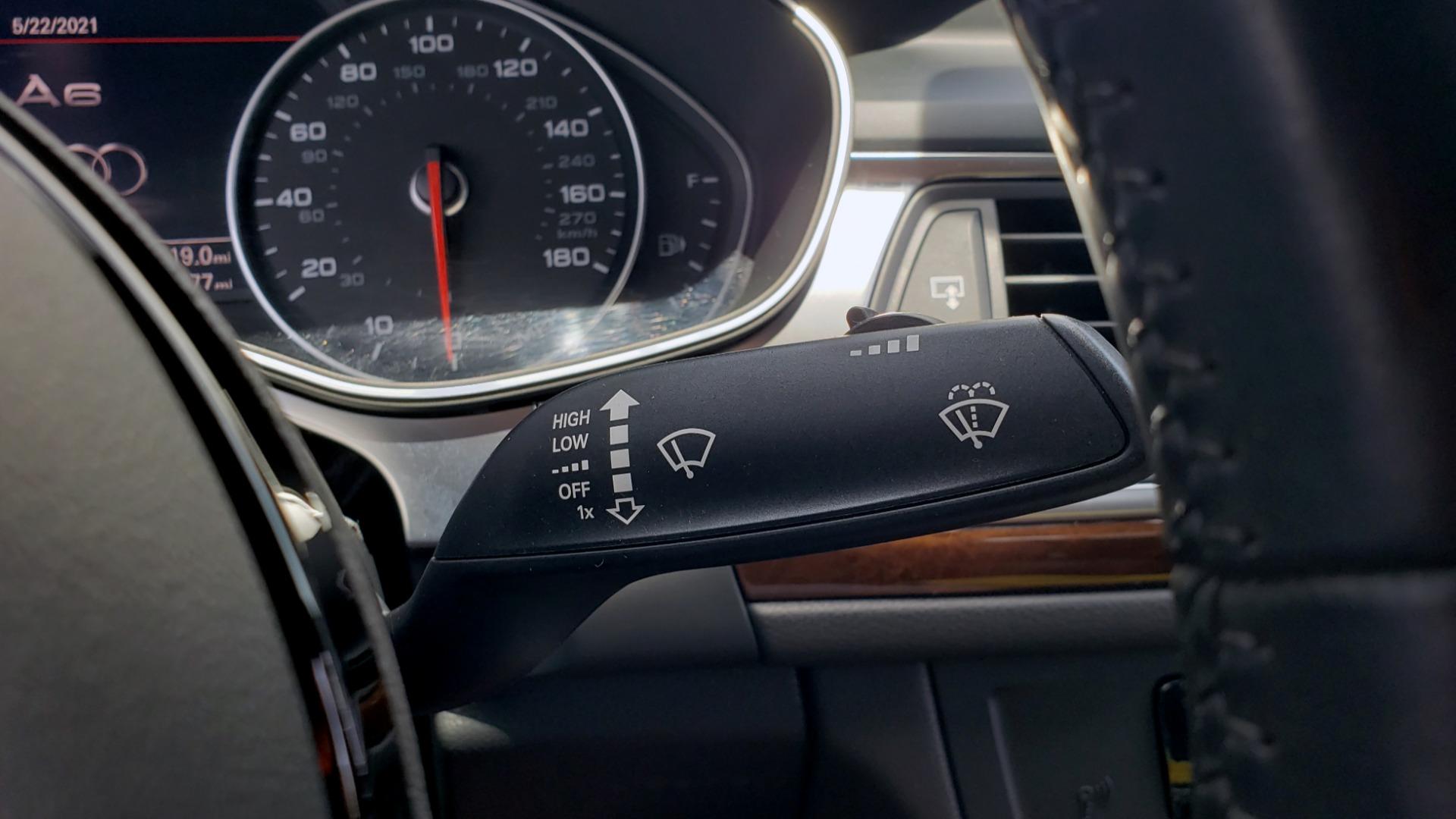 Used 2017 Audi A6 PRESTIGE SEDAN 3.0T / NAV / SUNROOF / BLACK OPTIC / CLD WTHR / REARVIEW for sale $30,797 at Formula Imports in Charlotte NC 28227 43