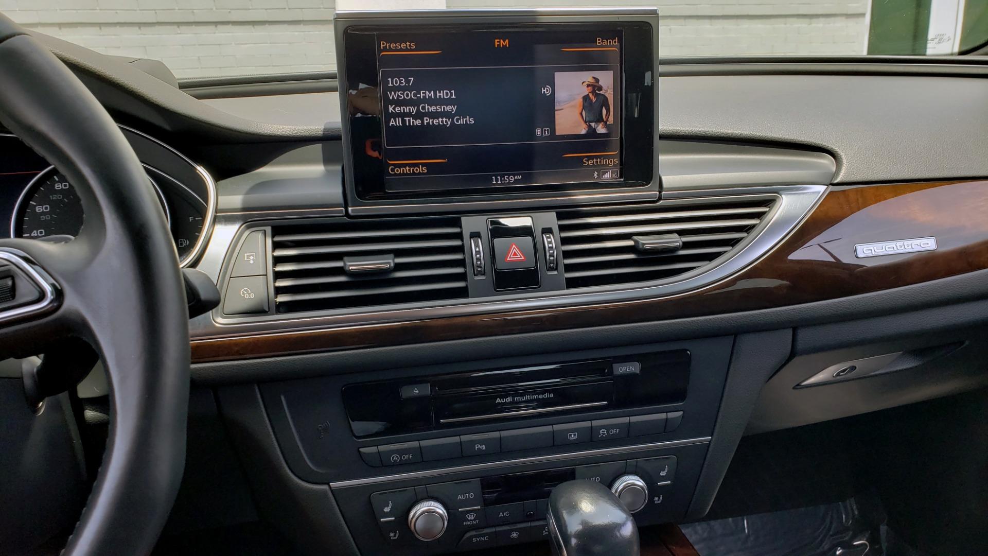 Used 2017 Audi A6 PRESTIGE SEDAN 3.0T / NAV / SUNROOF / BLACK OPTIC / CLD WTHR / REARVIEW for sale $30,797 at Formula Imports in Charlotte NC 28227 46