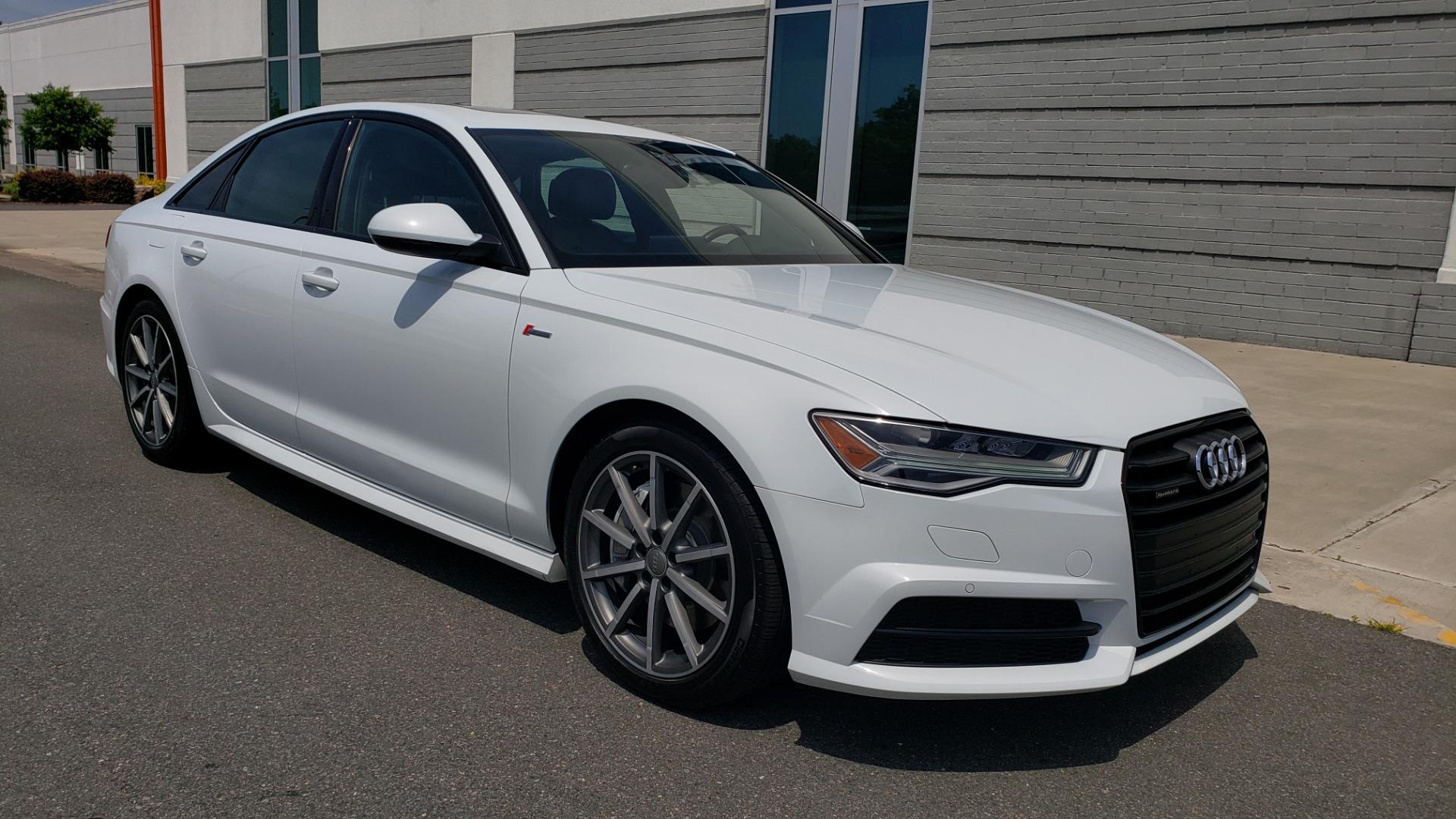Used 2017 Audi A6 PRESTIGE SEDAN 3.0T / NAV / SUNROOF / BLACK OPTIC / CLD WTHR / REARVIEW for sale $30,797 at Formula Imports in Charlotte NC 28227 7