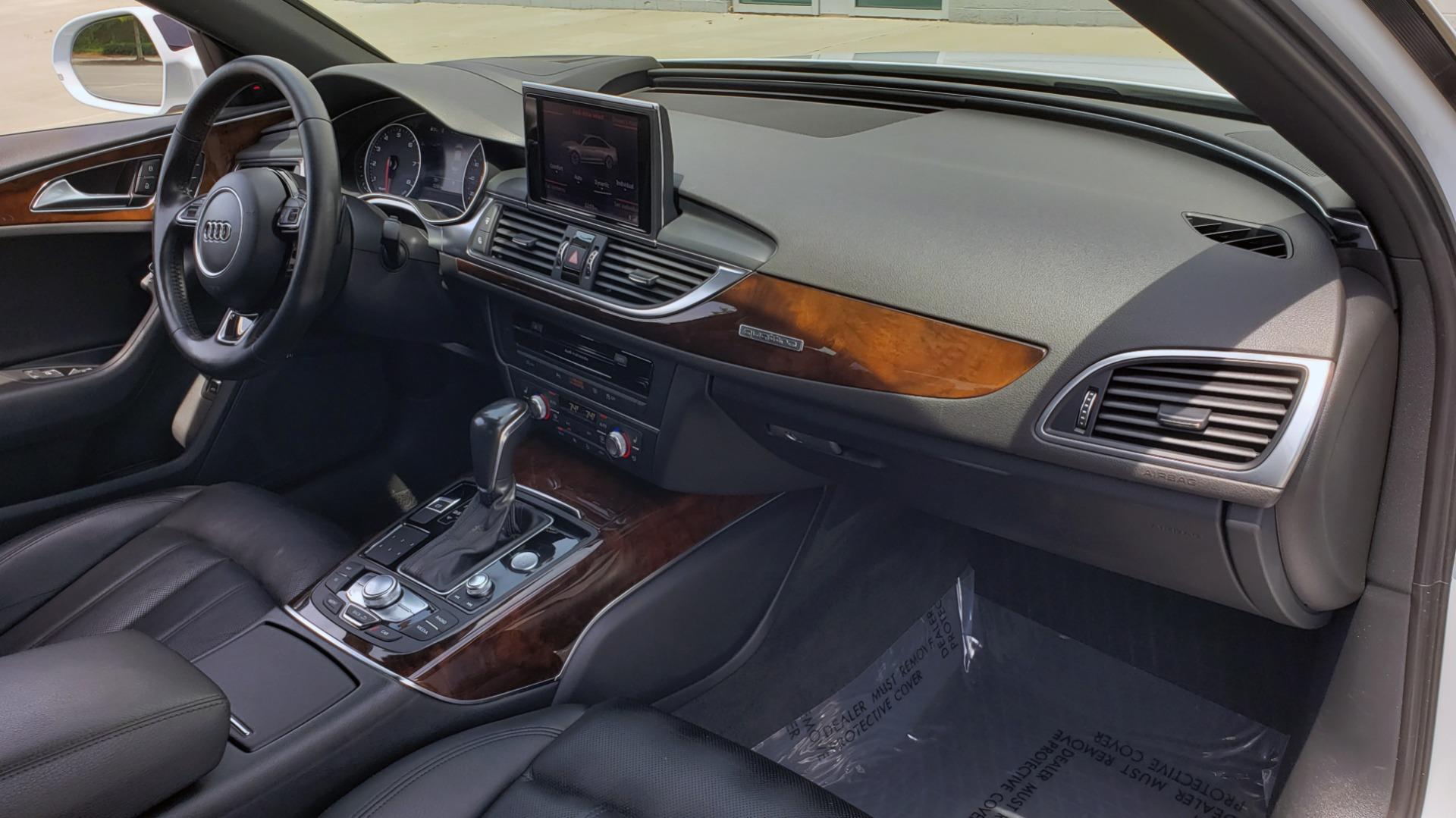 Used 2017 Audi A6 PRESTIGE SEDAN 3.0T / NAV / SUNROOF / BLACK OPTIC / CLD WTHR / REARVIEW for sale $30,797 at Formula Imports in Charlotte NC 28227 72