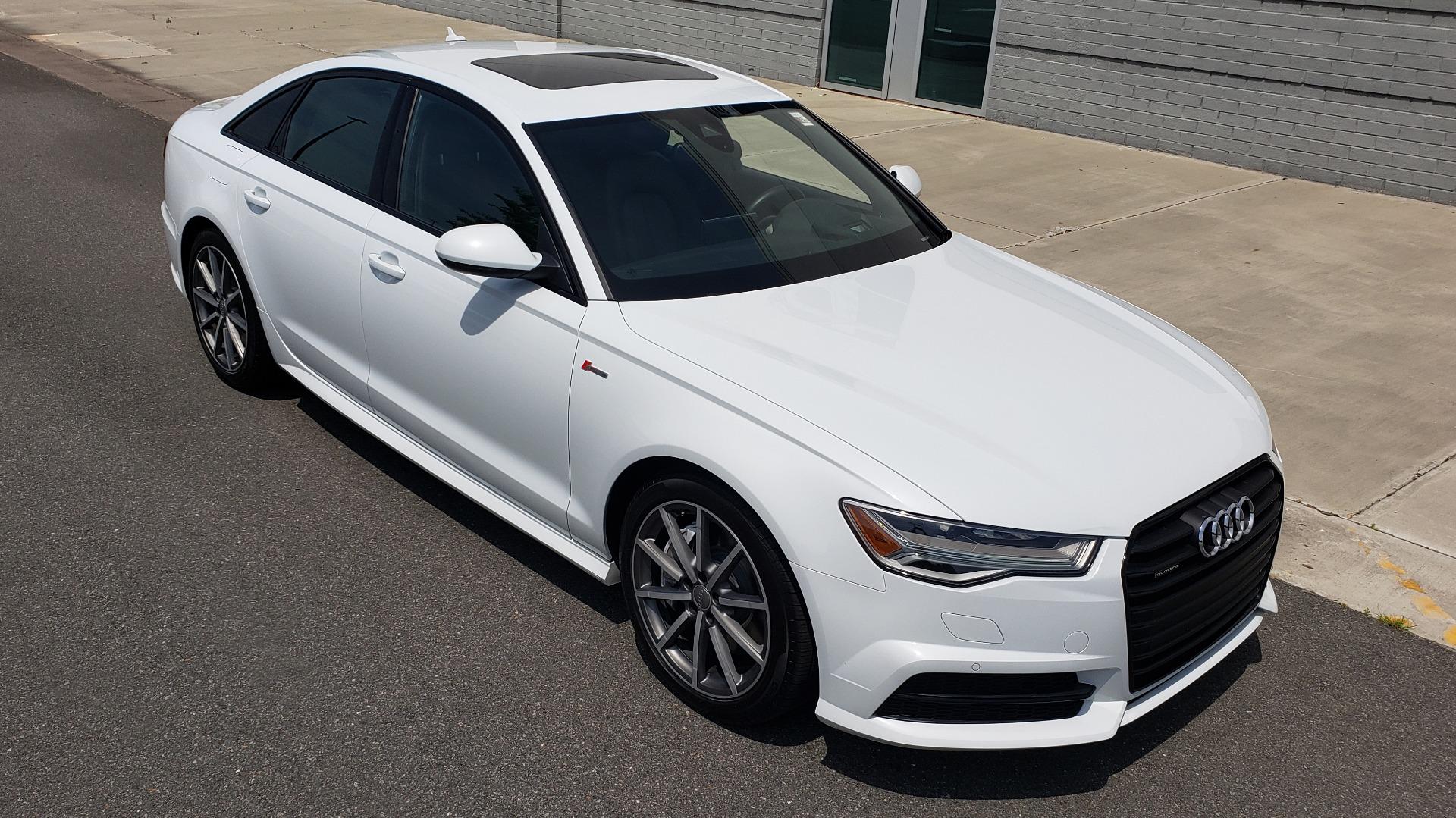 Used 2017 Audi A6 PRESTIGE SEDAN 3.0T / NAV / SUNROOF / BLACK OPTIC / CLD WTHR / REARVIEW for sale $30,797 at Formula Imports in Charlotte NC 28227 8