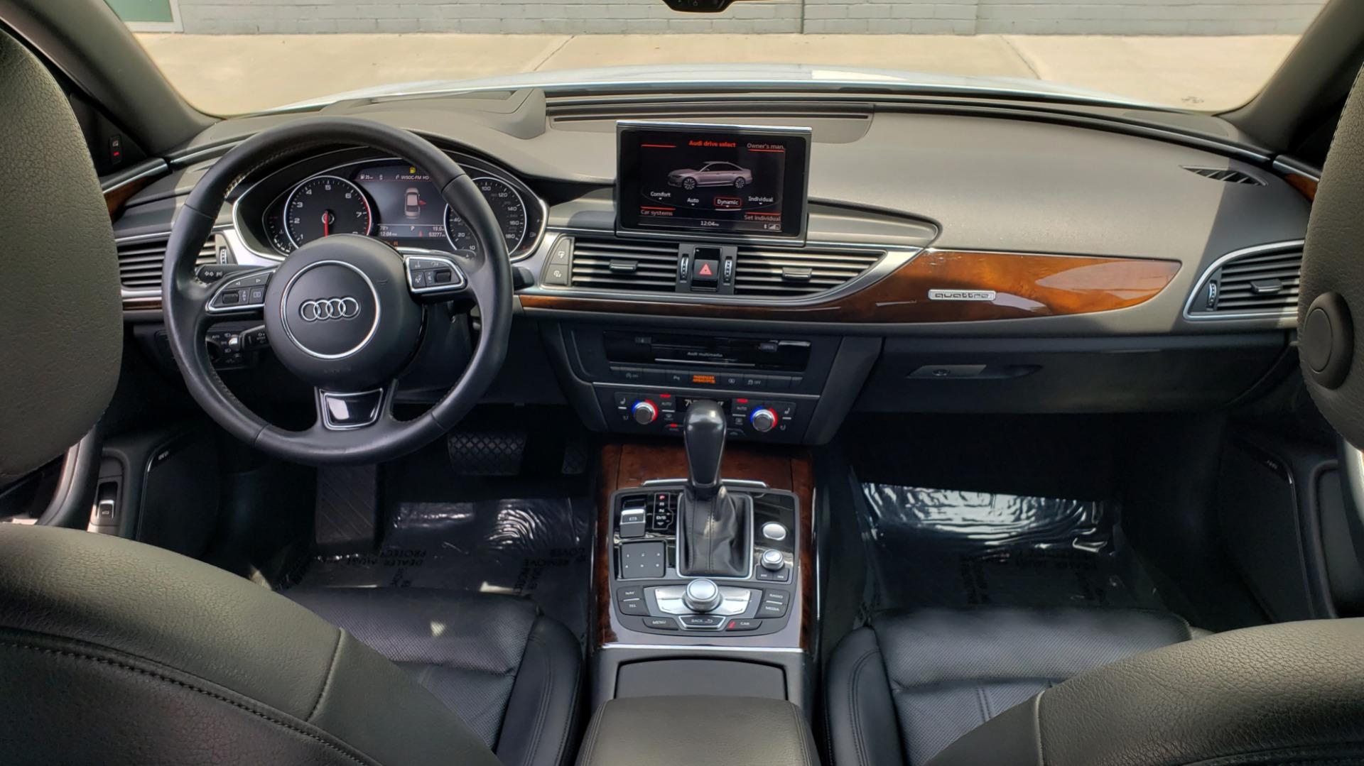 Used 2017 Audi A6 PRESTIGE SEDAN 3.0T / NAV / SUNROOF / BLACK OPTIC / CLD WTHR / REARVIEW for sale $30,797 at Formula Imports in Charlotte NC 28227 80