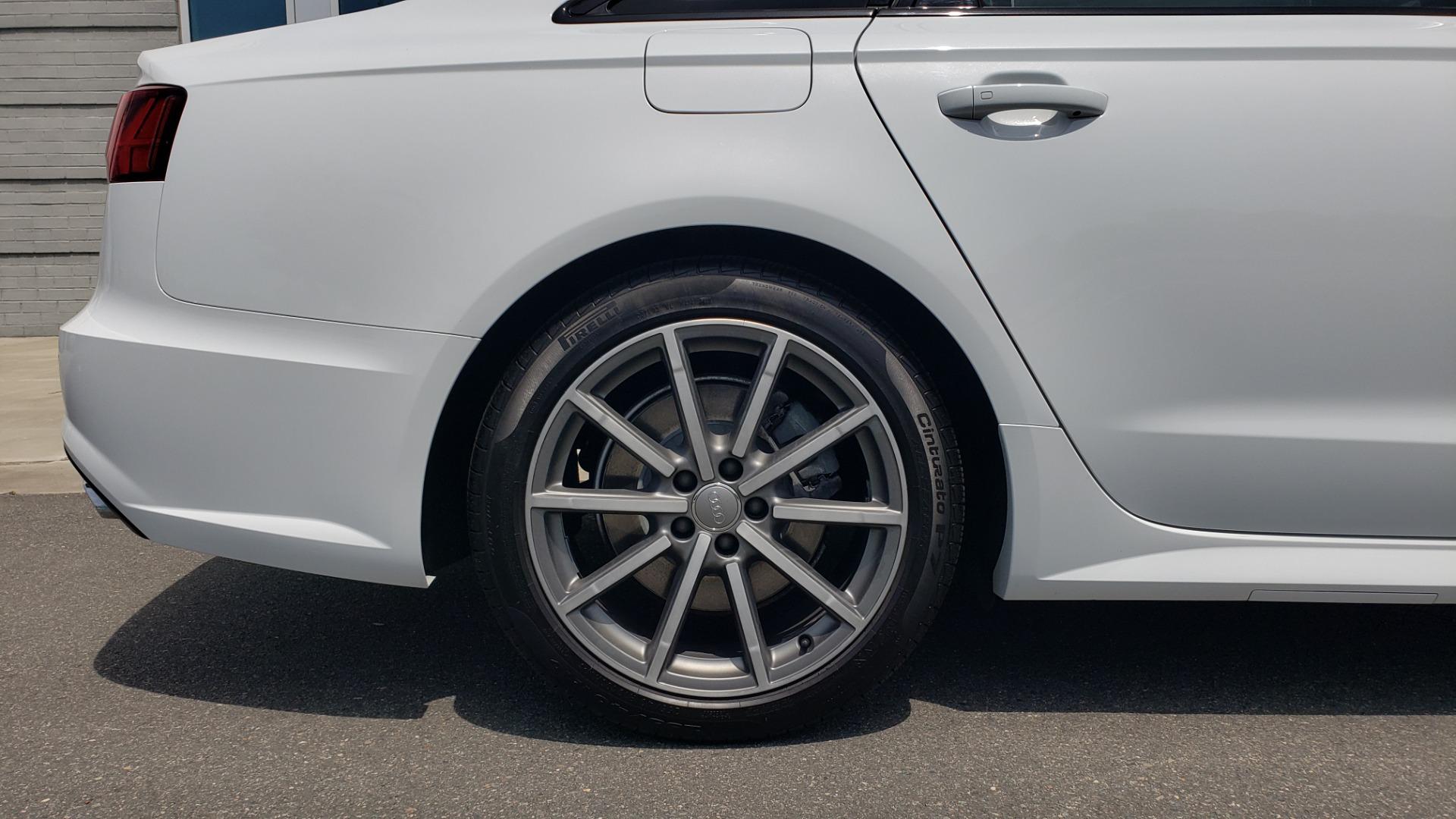 Used 2017 Audi A6 PRESTIGE SEDAN 3.0T / NAV / SUNROOF / BLACK OPTIC / CLD WTHR / REARVIEW for sale $30,797 at Formula Imports in Charlotte NC 28227 84