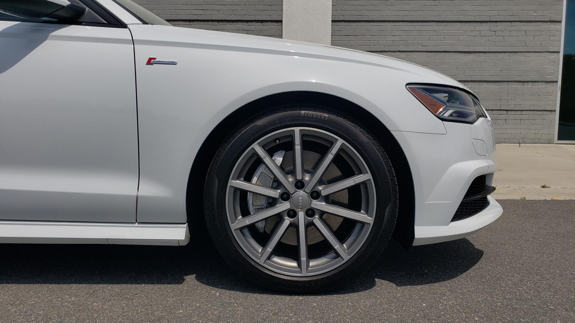 Used 2017 Audi A6 PRESTIGE SEDAN 3.0T / NAV / SUNROOF / BLACK OPTIC / CLD WTHR / REARVIEW for sale $30,797 at Formula Imports in Charlotte NC 28227 85