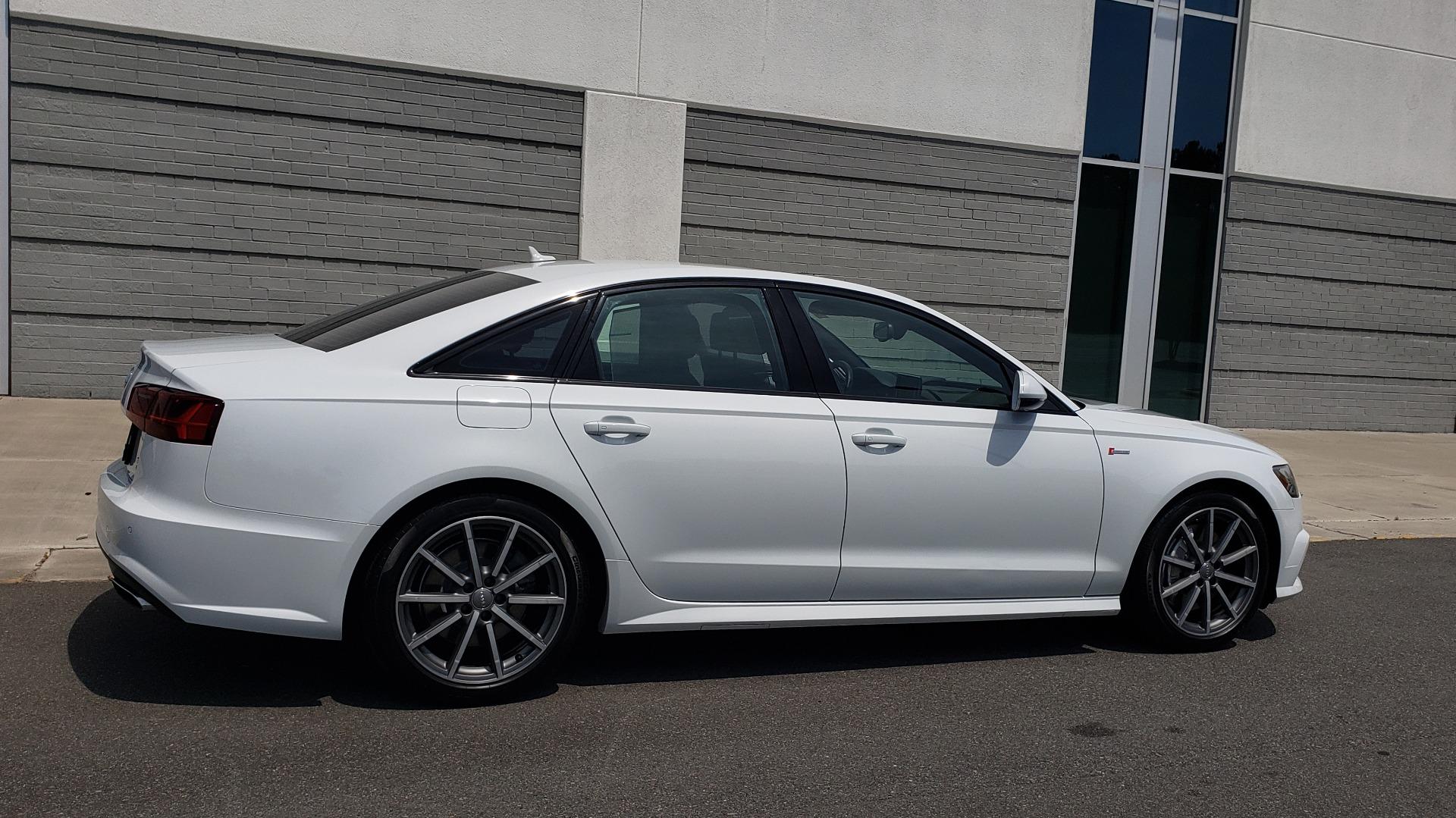 Used 2017 Audi A6 PRESTIGE SEDAN 3.0T / NAV / SUNROOF / BLACK OPTIC / CLD WTHR / REARVIEW for sale $30,797 at Formula Imports in Charlotte NC 28227 9