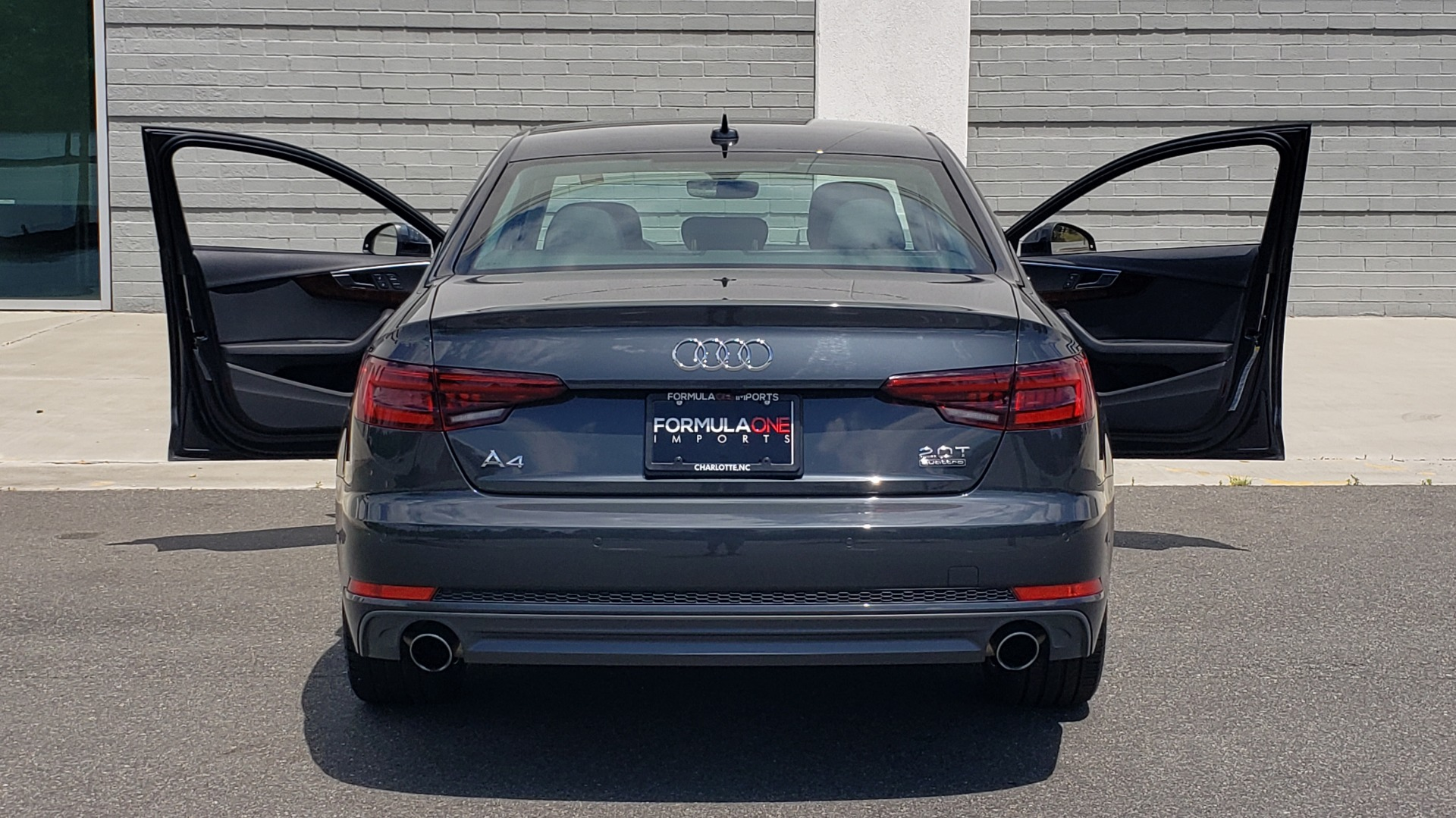 Used 2018 Audi A4 TECH PREMIUM PLUS / NAV / B&O SND / SUNROOF / CLD WTHR / REARVIEW for sale $28,595 at Formula Imports in Charlotte NC 28227 26