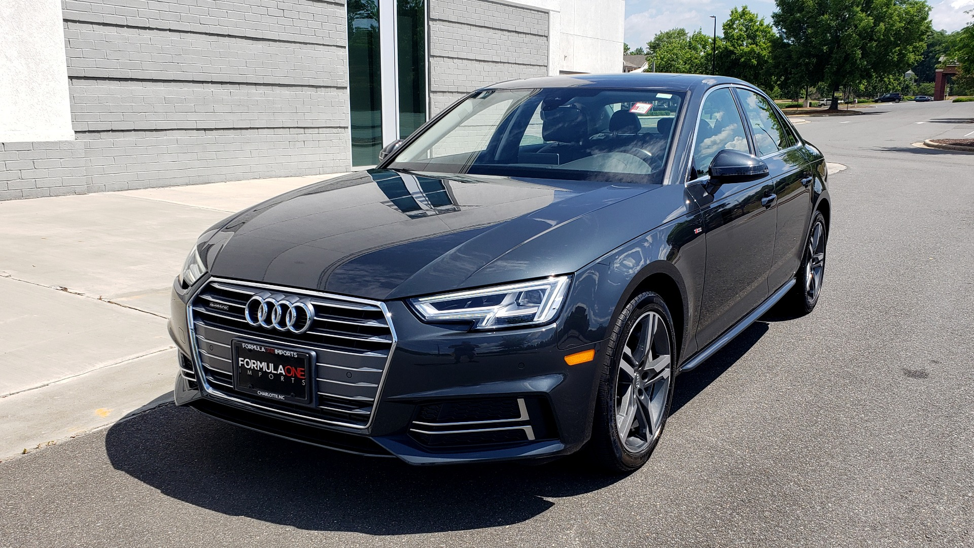 Used 2018 Audi A4 TECH PREMIUM PLUS / NAV / B&O SND / SUNROOF / CLD WTHR / REARVIEW for sale $28,595 at Formula Imports in Charlotte NC 28227 3