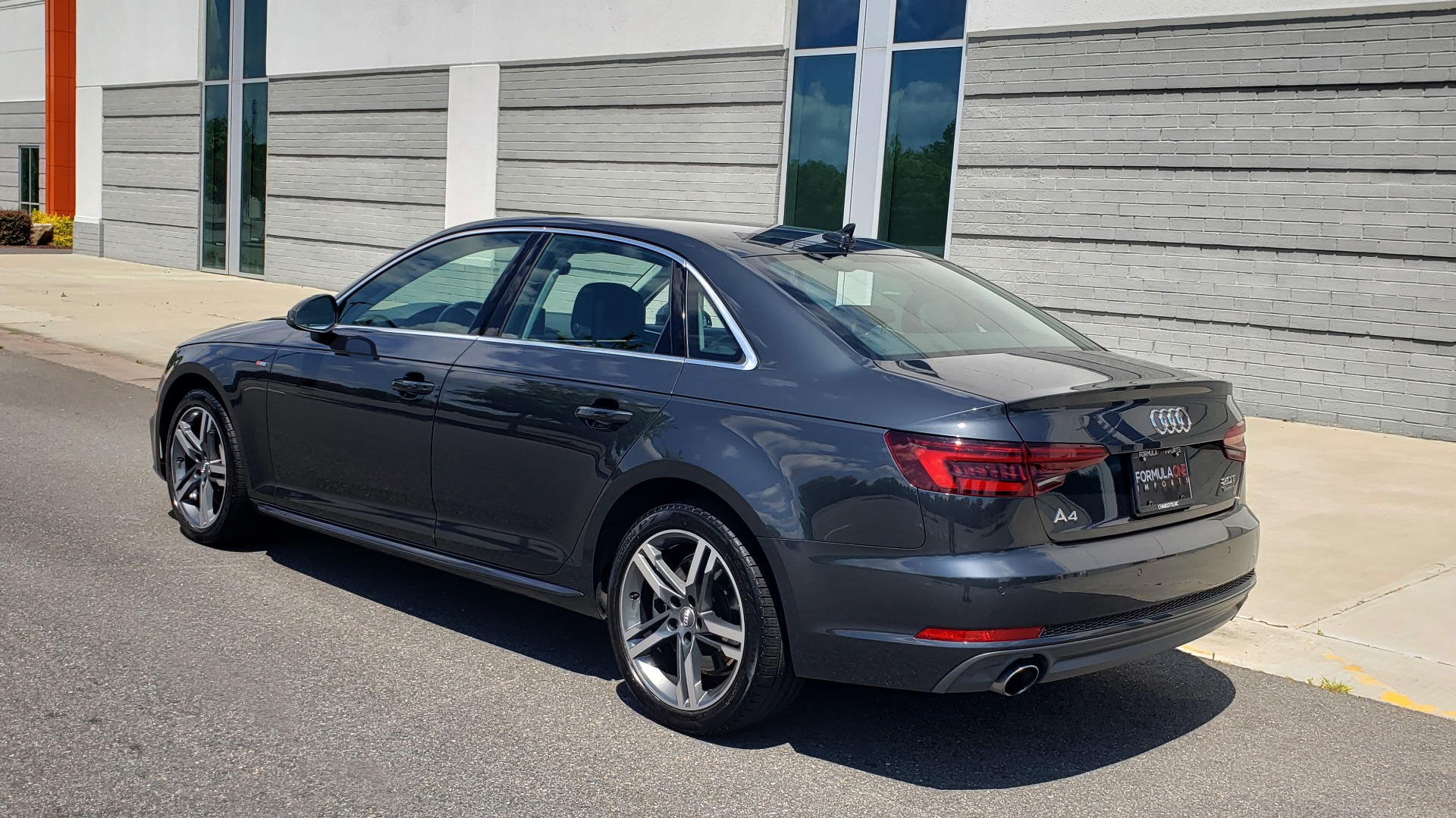 Used 2018 Audi A4 TECH PREMIUM PLUS / NAV / B&O SND / SUNROOF / CLD WTHR / REARVIEW for sale $28,595 at Formula Imports in Charlotte NC 28227 6