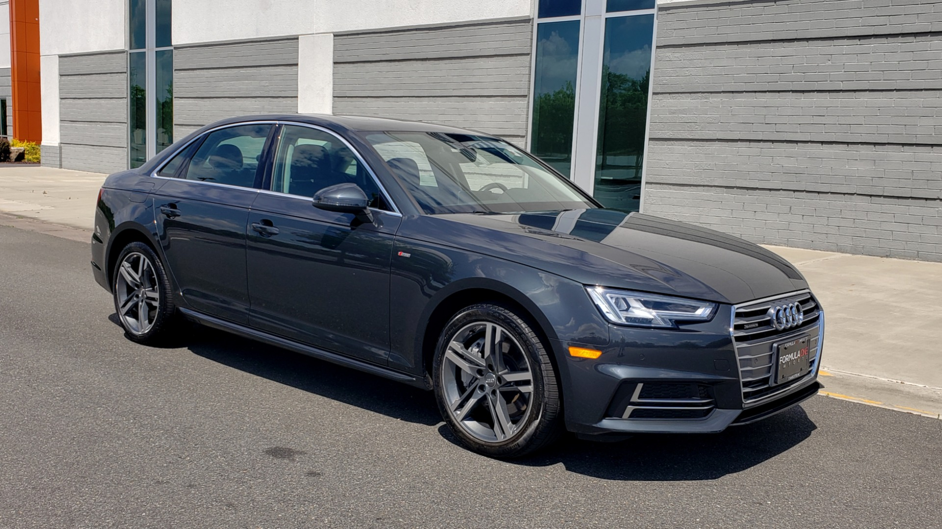 Used 2018 Audi A4 TECH PREMIUM PLUS / NAV / B&O SND / SUNROOF / CLD WTHR / REARVIEW for sale $28,595 at Formula Imports in Charlotte NC 28227 7