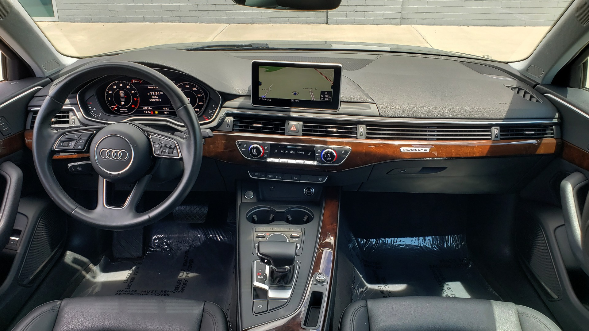 Used 2018 Audi A4 TECH PREMIUM PLUS / NAV / B&O SND / SUNROOF / CLD WTHR / REARVIEW for sale $28,595 at Formula Imports in Charlotte NC 28227 76