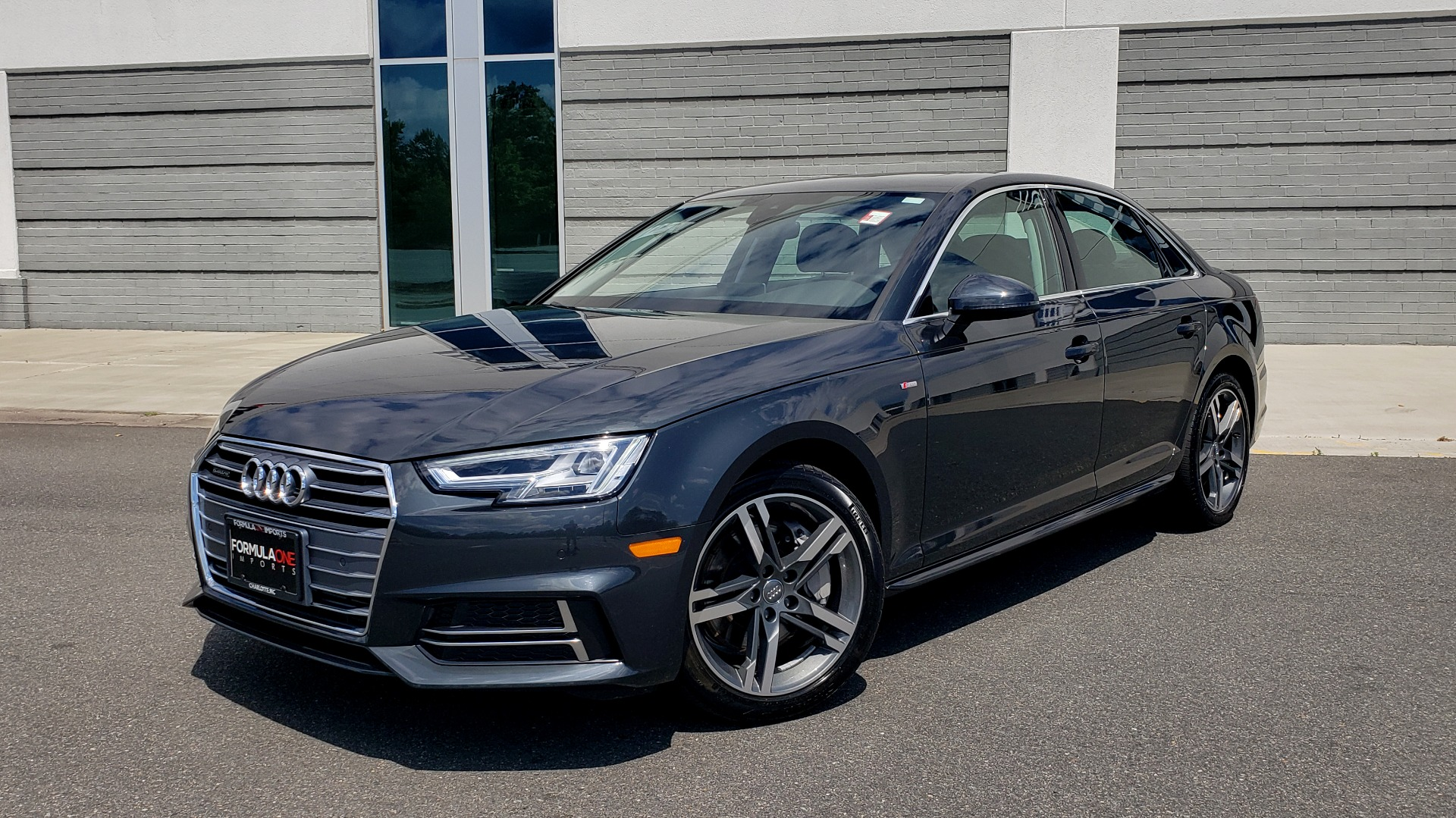 Used 2018 Audi A4 TECH PREMIUM PLUS / NAV / B&O SND / SUNROOF / CLD WTHR / REARVIEW for sale $28,595 at Formula Imports in Charlotte NC 28227 1