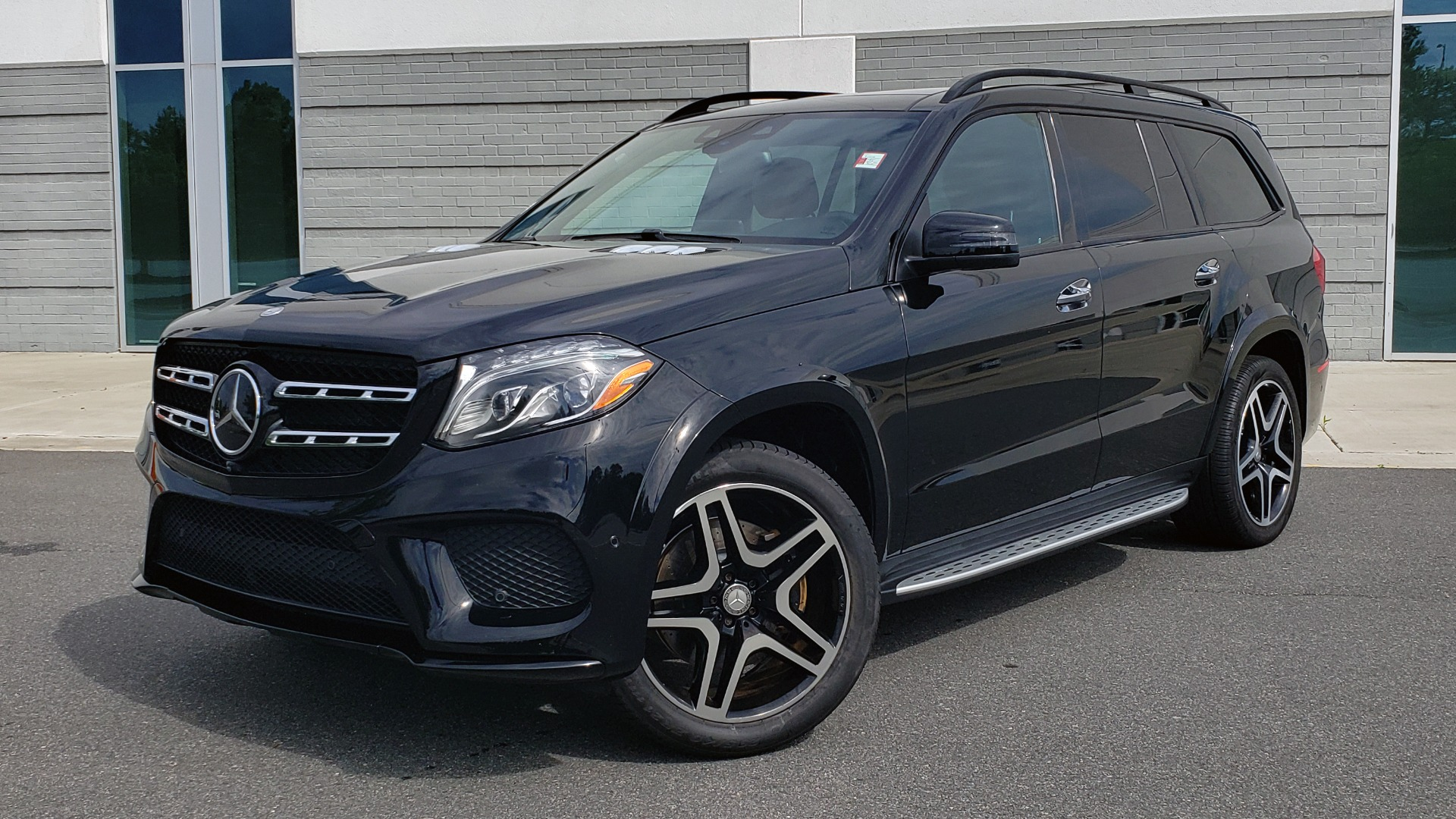 Used 2017 Mercedes-Benz GLS 550 4MATIC / NAV / DRVR ASST / SUNROOF / NIGHT PKG / REARVIEW for sale Call for price at Formula Imports in Charlotte NC 28227 3