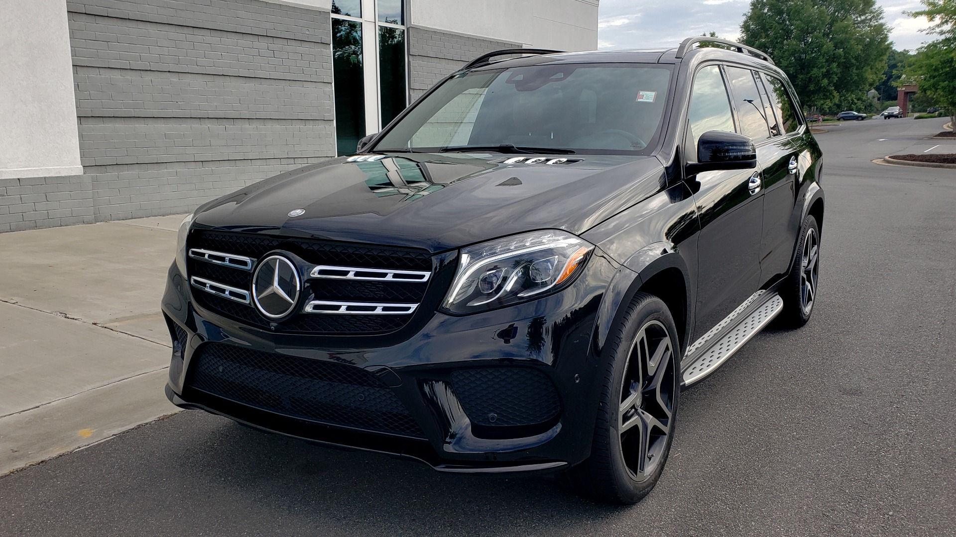 Used 2017 Mercedes-Benz GLS 550 4MATIC / NAV / DRVR ASST / SUNROOF / NIGHT PKG / REARVIEW for sale Call for price at Formula Imports in Charlotte NC 28227 4