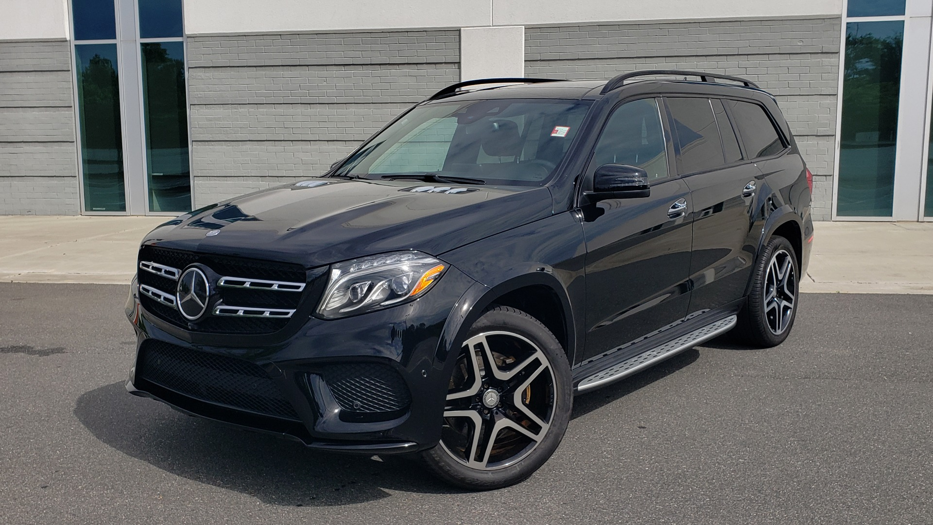 Used 2017 Mercedes-Benz GLS 550 4MATIC / NAV / DRVR ASST / SUNROOF / NIGHT PKG / REARVIEW for sale Call for price at Formula Imports in Charlotte NC 28227 1