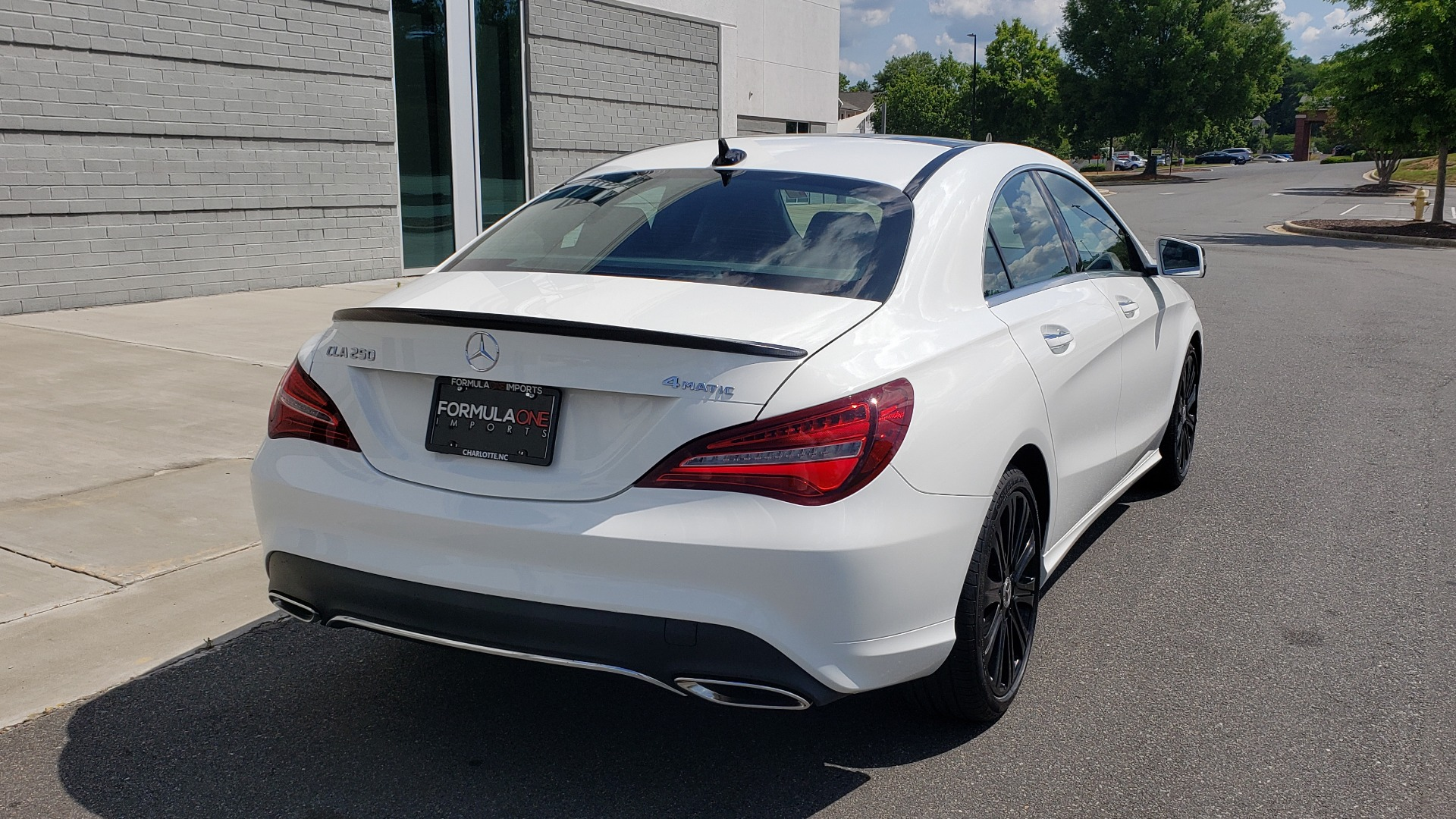 Used 2018 Mercedes-Benz CLA 250 4MATIC COUPE / PREMIUM / PANO-ROOF / APPLE / REARVIEW for sale Sold at Formula Imports in Charlotte NC 28227 2