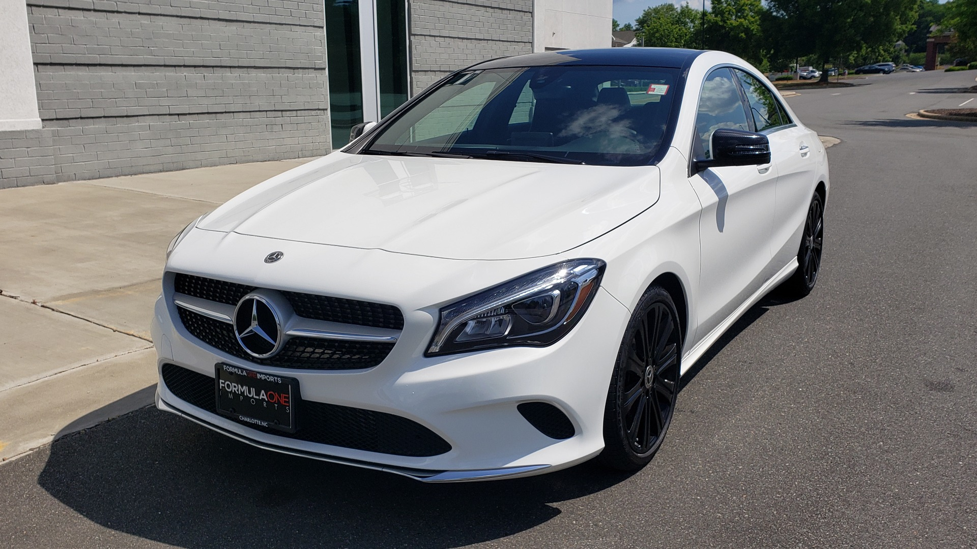 Used 2018 Mercedes-Benz CLA 250 4MATIC COUPE / PREMIUM / PANO-ROOF / APPLE / REARVIEW for sale Sold at Formula Imports in Charlotte NC 28227 3