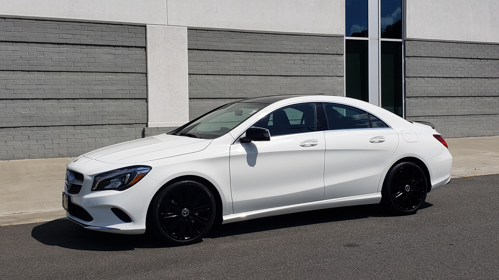Used 2018 Mercedes-Benz CLA 250 4MATIC COUPE / PREMIUM / PANO-ROOF / APPLE / REARVIEW for sale Sold at Formula Imports in Charlotte NC 28227 4