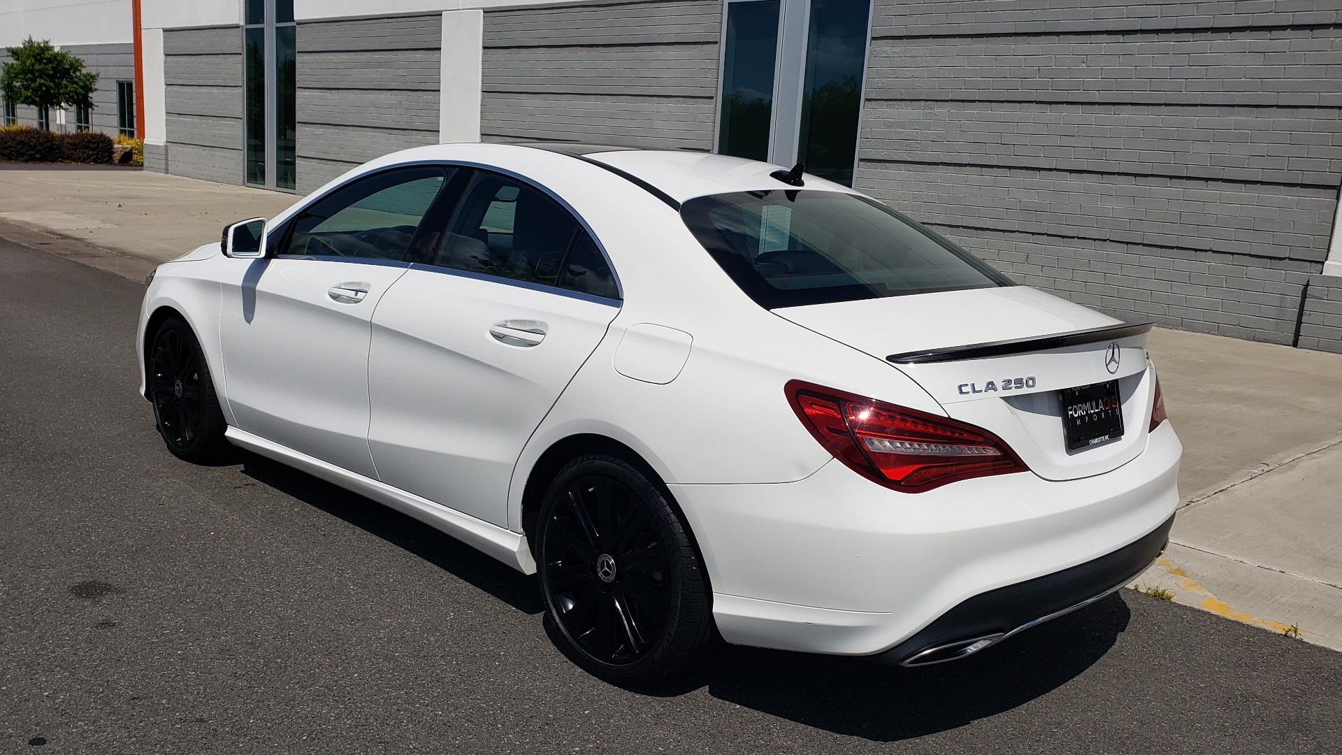 Used 2018 Mercedes-Benz CLA 250 4MATIC COUPE / PREMIUM / PANO-ROOF / APPLE / REARVIEW for sale Sold at Formula Imports in Charlotte NC 28227 6