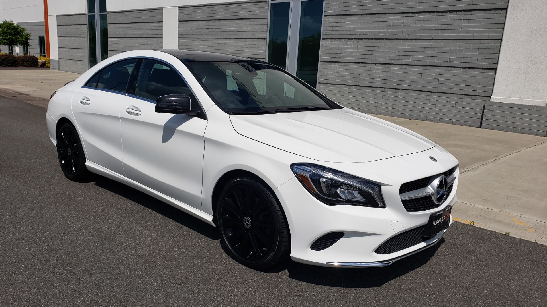 Used 2018 Mercedes-Benz CLA 250 4MATIC COUPE / PREMIUM / PANO-ROOF / APPLE / REARVIEW for sale Sold at Formula Imports in Charlotte NC 28227 7