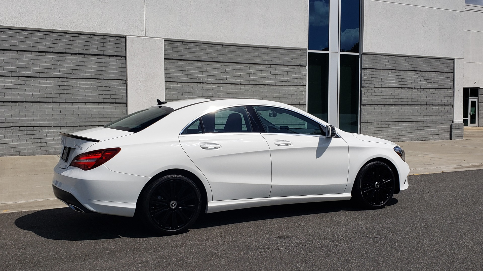 Used 2018 Mercedes-Benz CLA 250 4MATIC COUPE / PREMIUM / PANO-ROOF / APPLE / REARVIEW for sale Sold at Formula Imports in Charlotte NC 28227 8