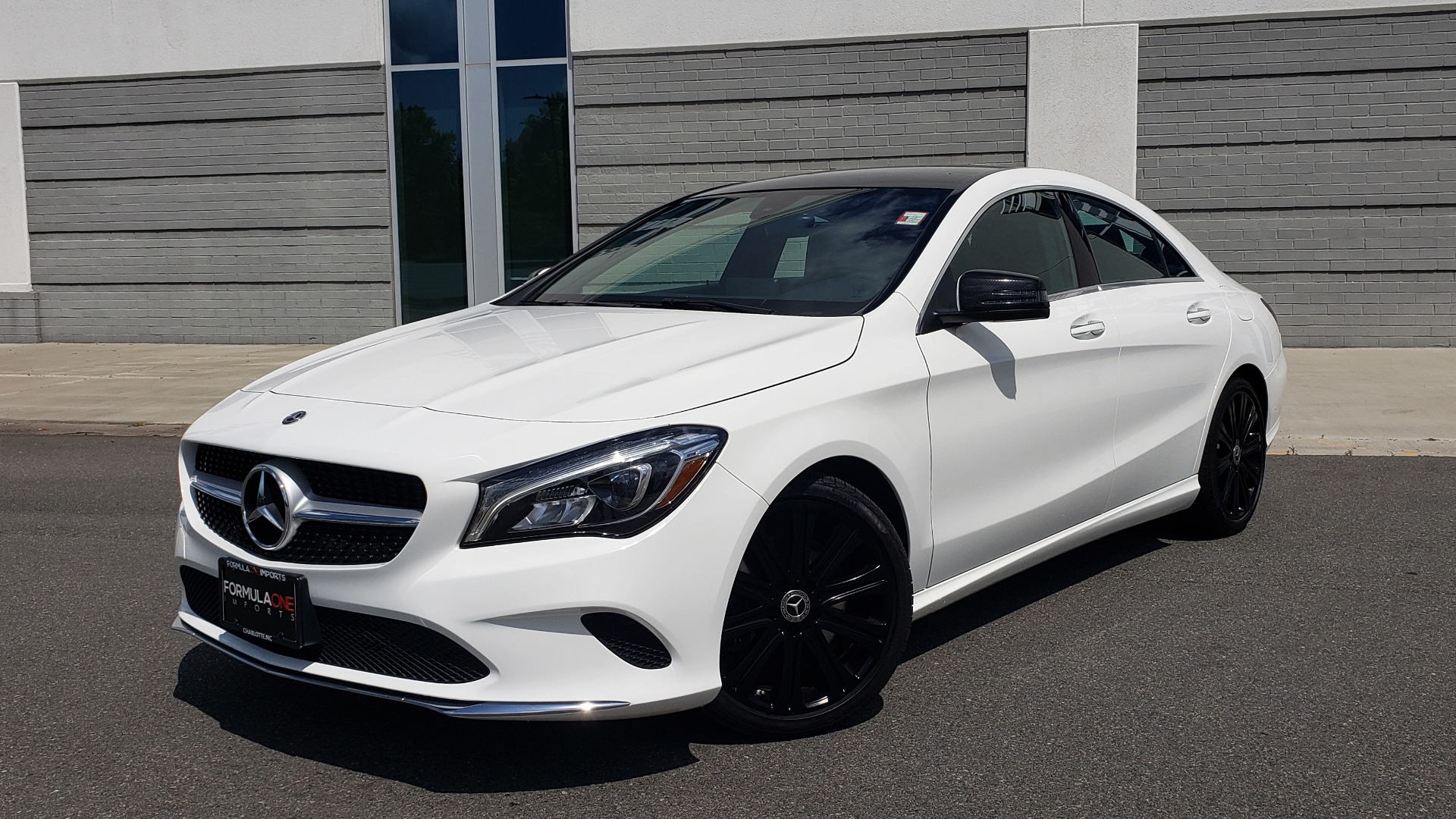 Used 2018 Mercedes-Benz CLA 250 4MATIC COUPE / PREMIUM / PANO-ROOF / APPLE / REARVIEW for sale Sold at Formula Imports in Charlotte NC 28227 1