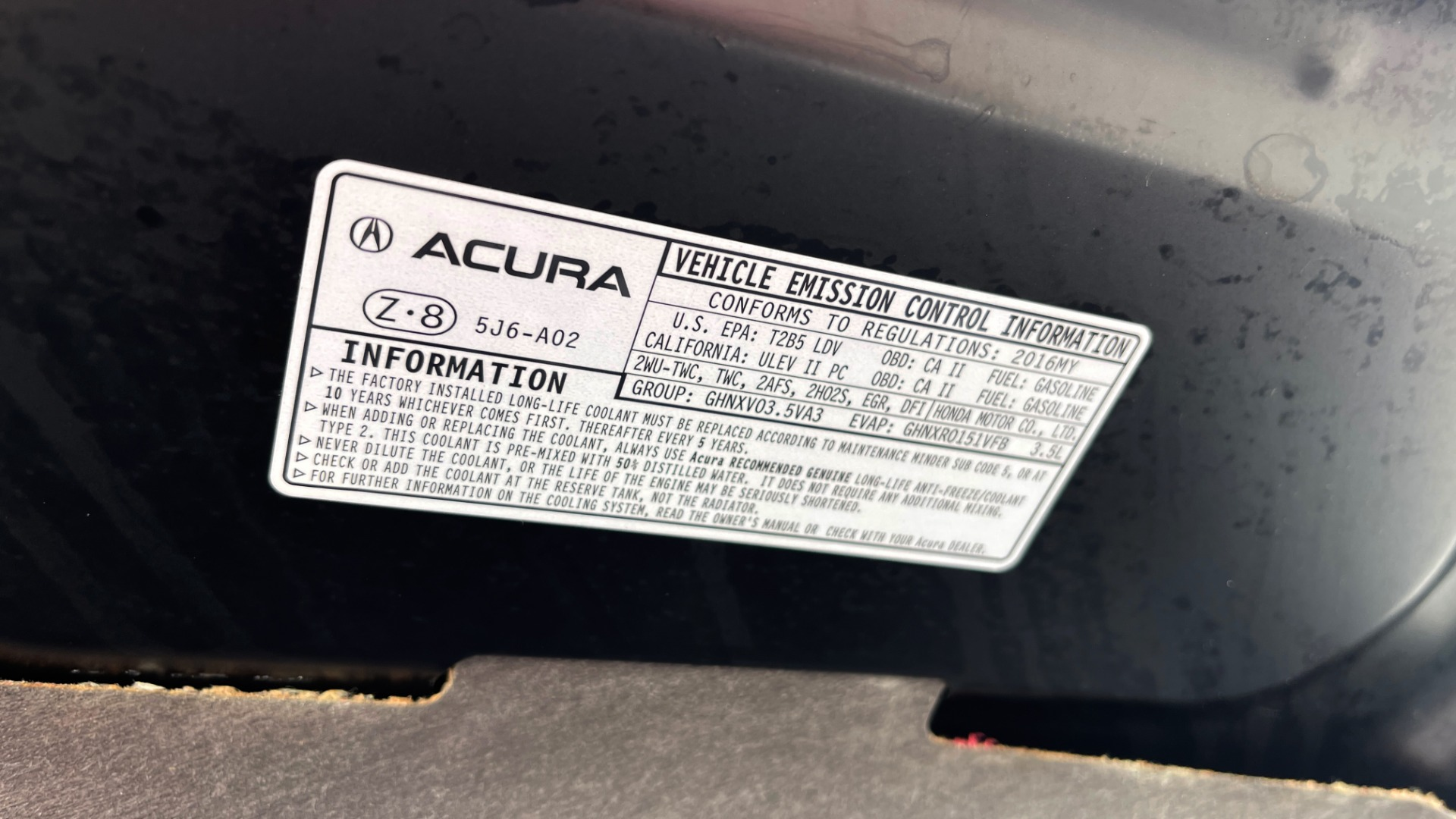 Used 2016 Acura MDX 3.5L V6 / AUTO / LEATHER / NAV / SUNROOF / 3-ROW / REARVIEW for sale $21,900 at Formula Imports in Charlotte NC 28227 12
